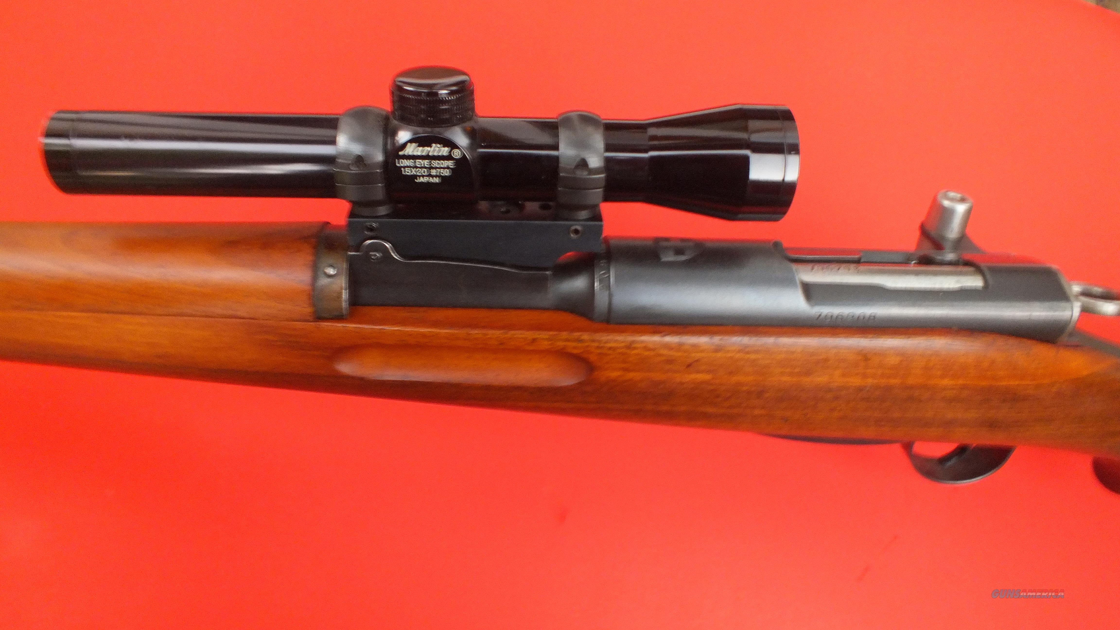 Swiss K-31 rifle 7.5x55 straight pull    Guns > Rifles > A Misc Rifles