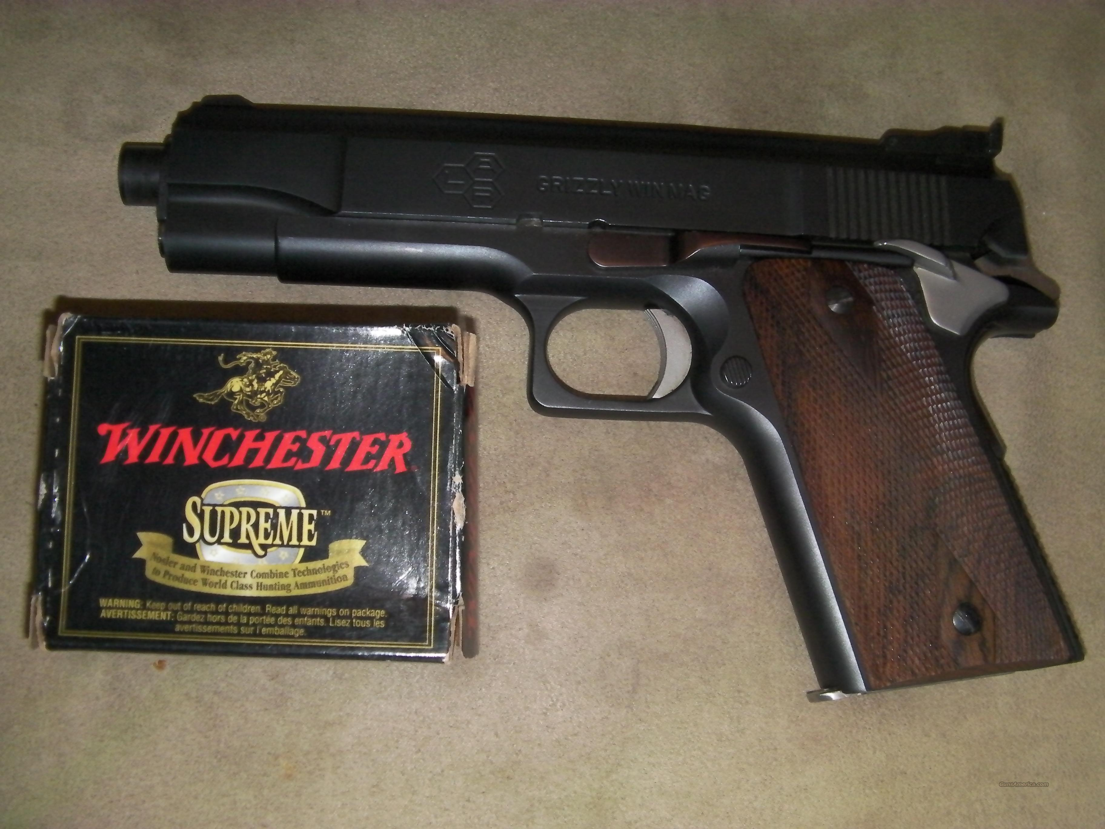 LAR Grizzly 45 win mag  Guns > Pistols > LAR/Grizzly Mfg. Co. Pistols