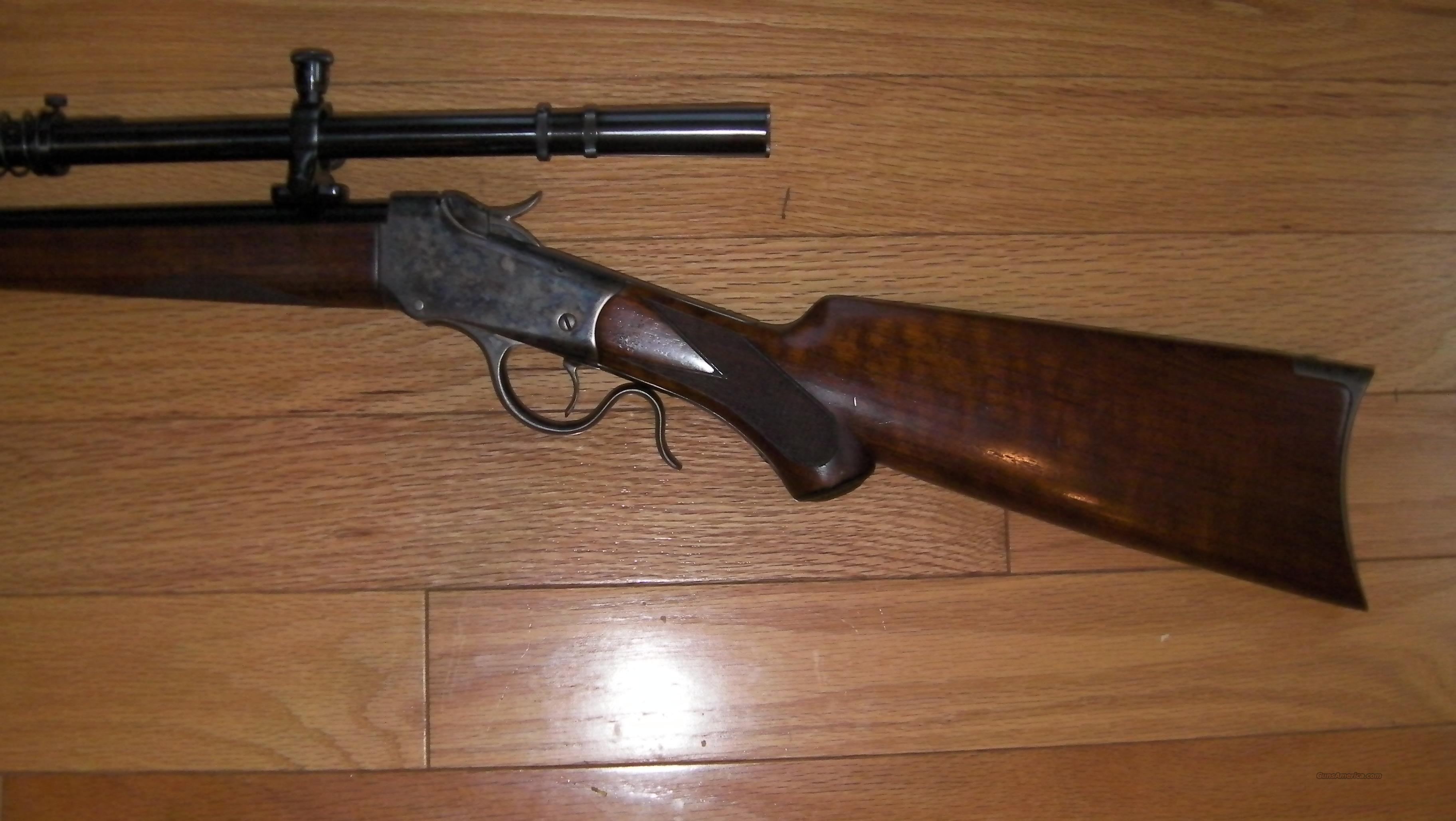 Winchester Low Wall 218 Bee  Guns > Rifles > Winchester Rifles - Pre-1899 Lever