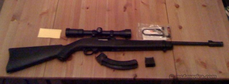 Ruger 10/22 - Blk/Blk w/ Scope, Trigger kit, etc....   Guns > Rifles > Ruger Rifles > 10-22