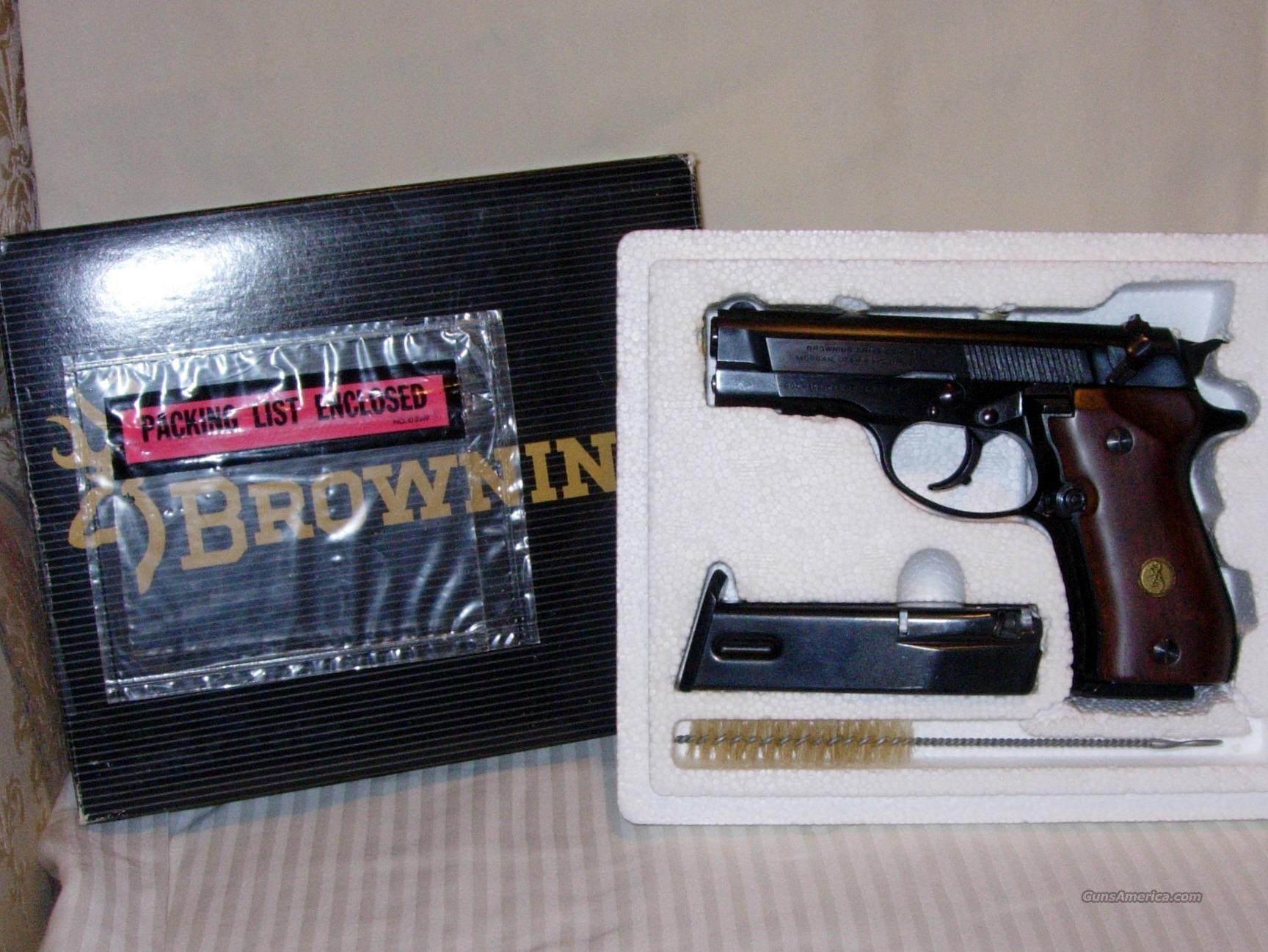 Browning BDA .380 ACP cal.  Guns > Pistols > Browning Pistols > Other Autos