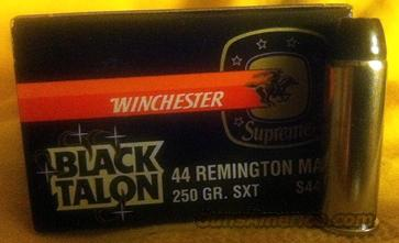 WINCHESTER BLACK TALON AMMO Mint, original box  Non-Guns > Ammunition