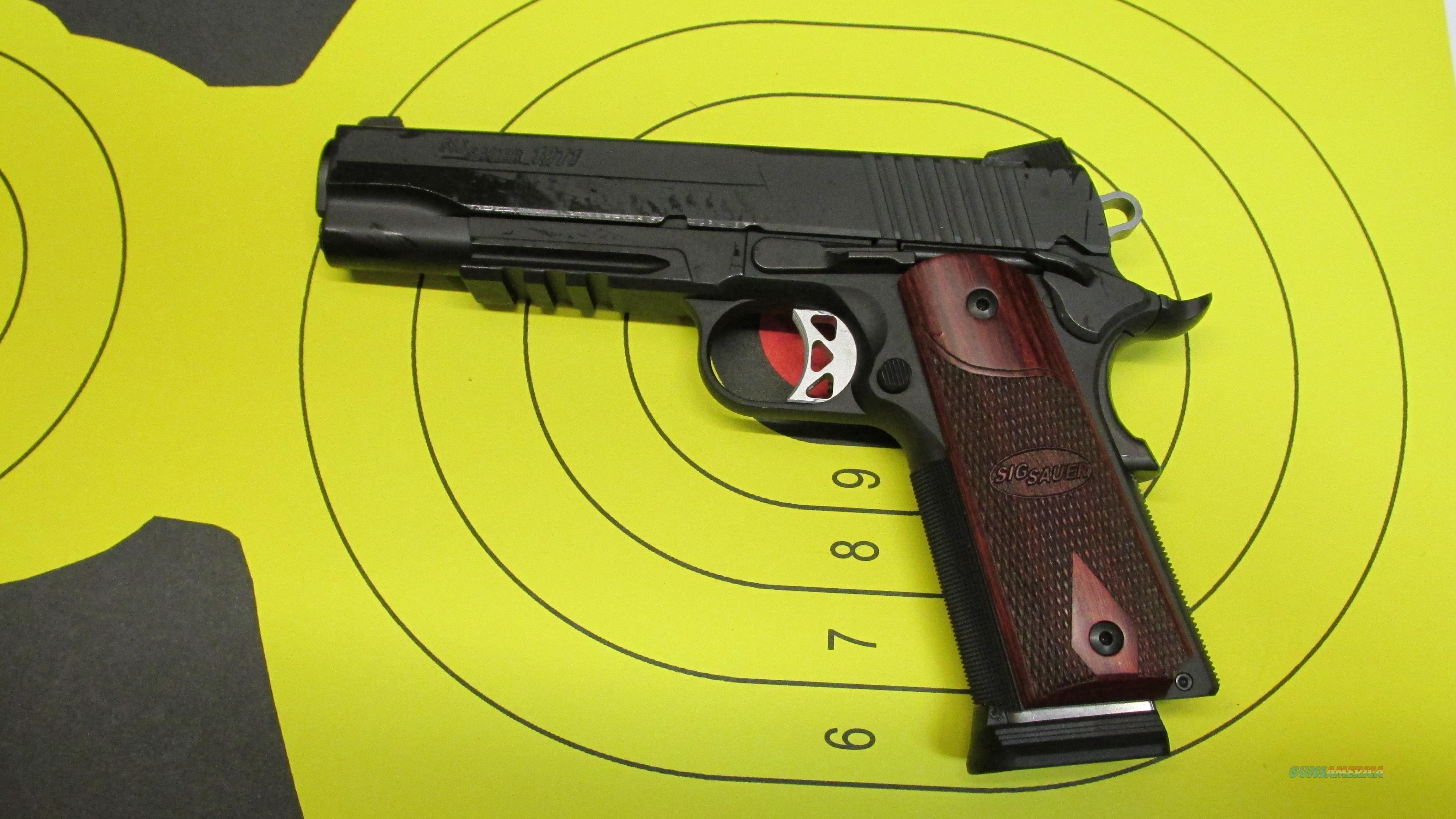 "SIG SAUER 1911R .45ACP 5"" BARREL 8 ROUND MAGAZINE (2)  Guns > Pistols > Sig - Sauer/Sigarms Pistols > 1911"