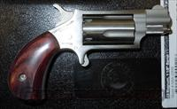 "NORTH AMERICAN ARMS NAA-22MS 22 MAGNUM MINI REVOLVER WITH 1-1/8"" BARREL  North American Arms Pistols"