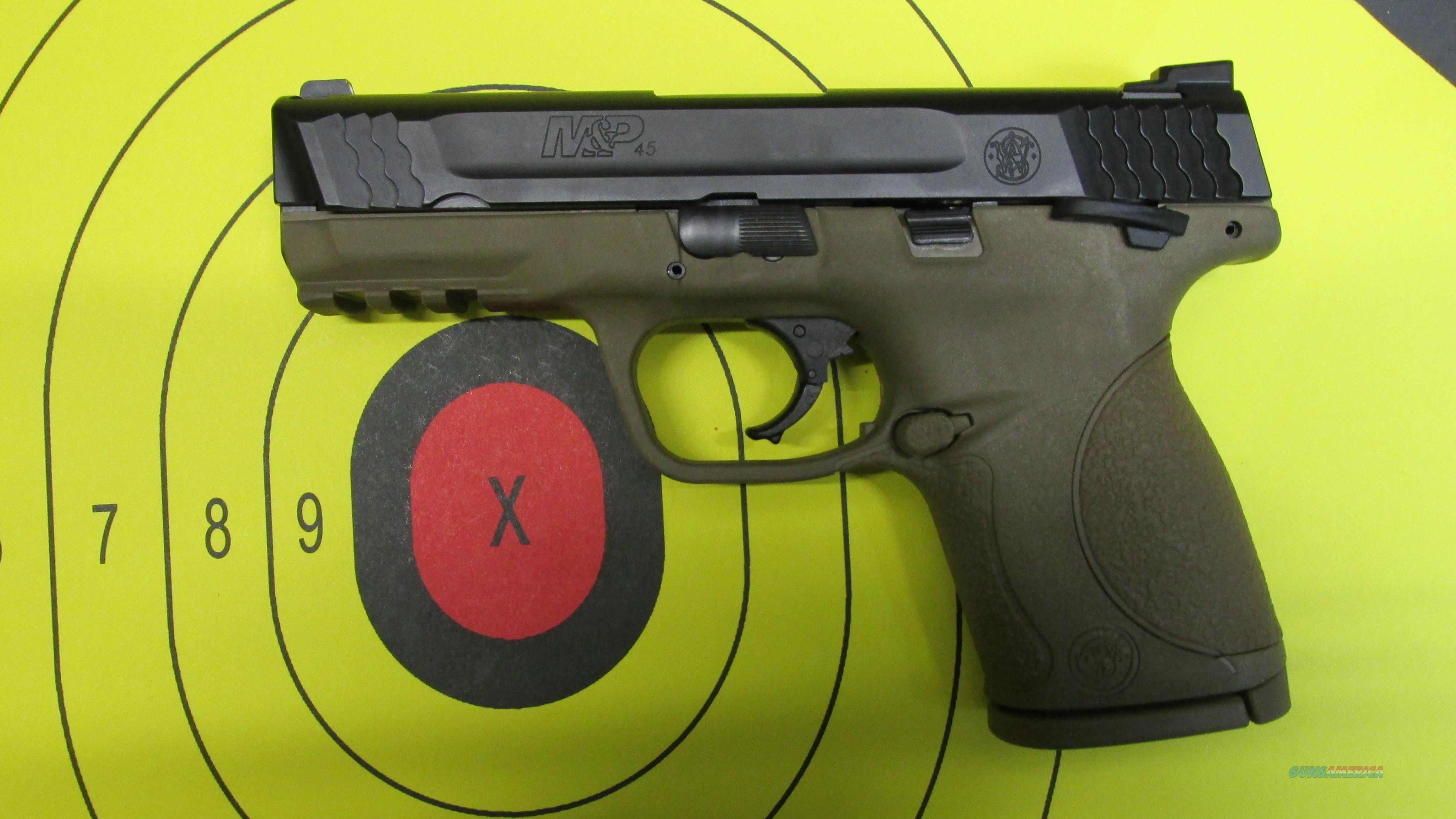 SMITH & WESSON M&P 45C FDE S&W PISTOL  Guns > Pistols > Smith & Wesson Pistols - Autos > Polymer Frame