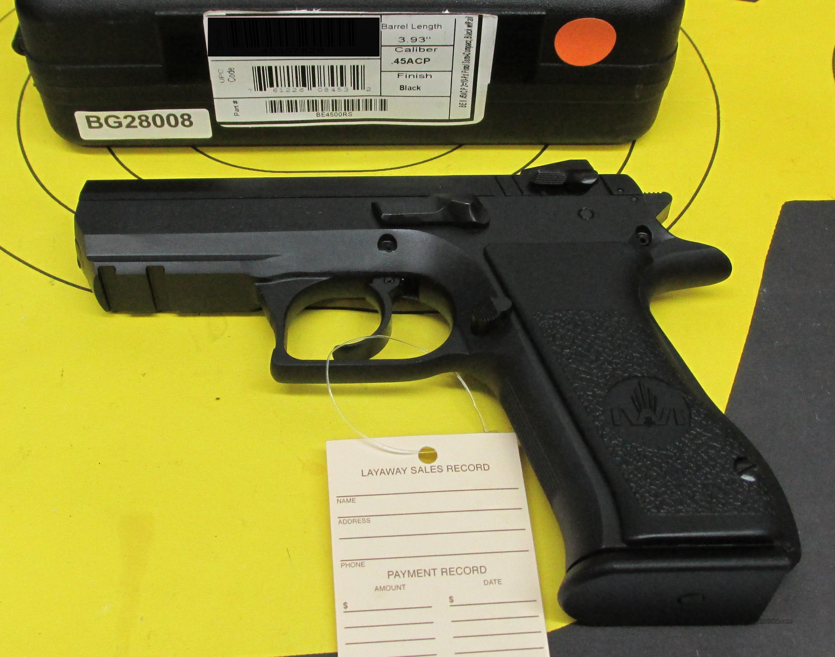 Magnum Research IWI Baby Eagle 45 ACP   Guns > Pistols > Magnum Research Pistols