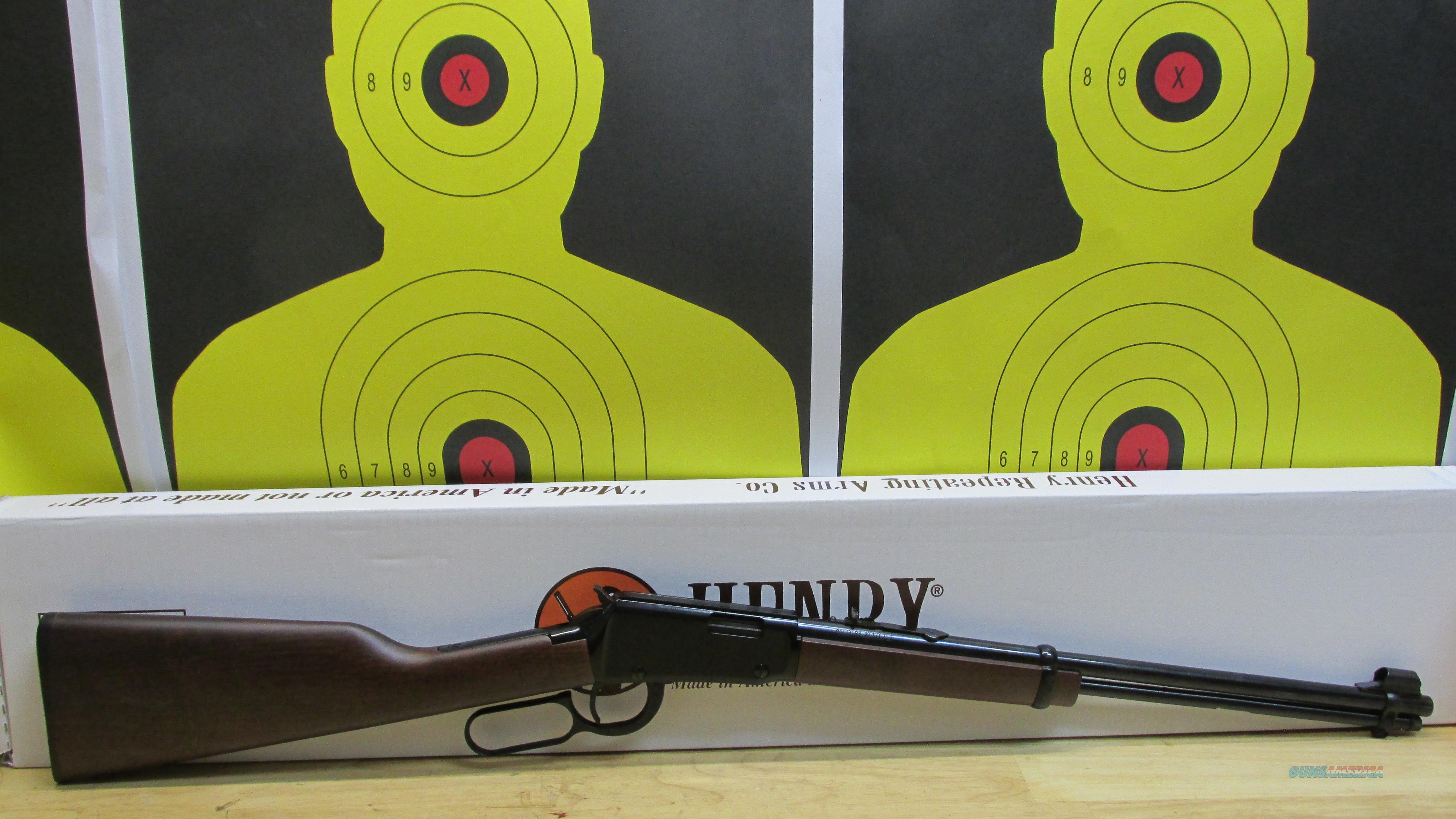 "HENRY REPEATING ARMS, H001 .22S/L/LR LEVER ACTION RIFLE, 15 LR/ 17 L/ 21 S CAPACITY TUBE FED, 18.25"" BARREL  Guns > Rifles > Henry Rifle Company"