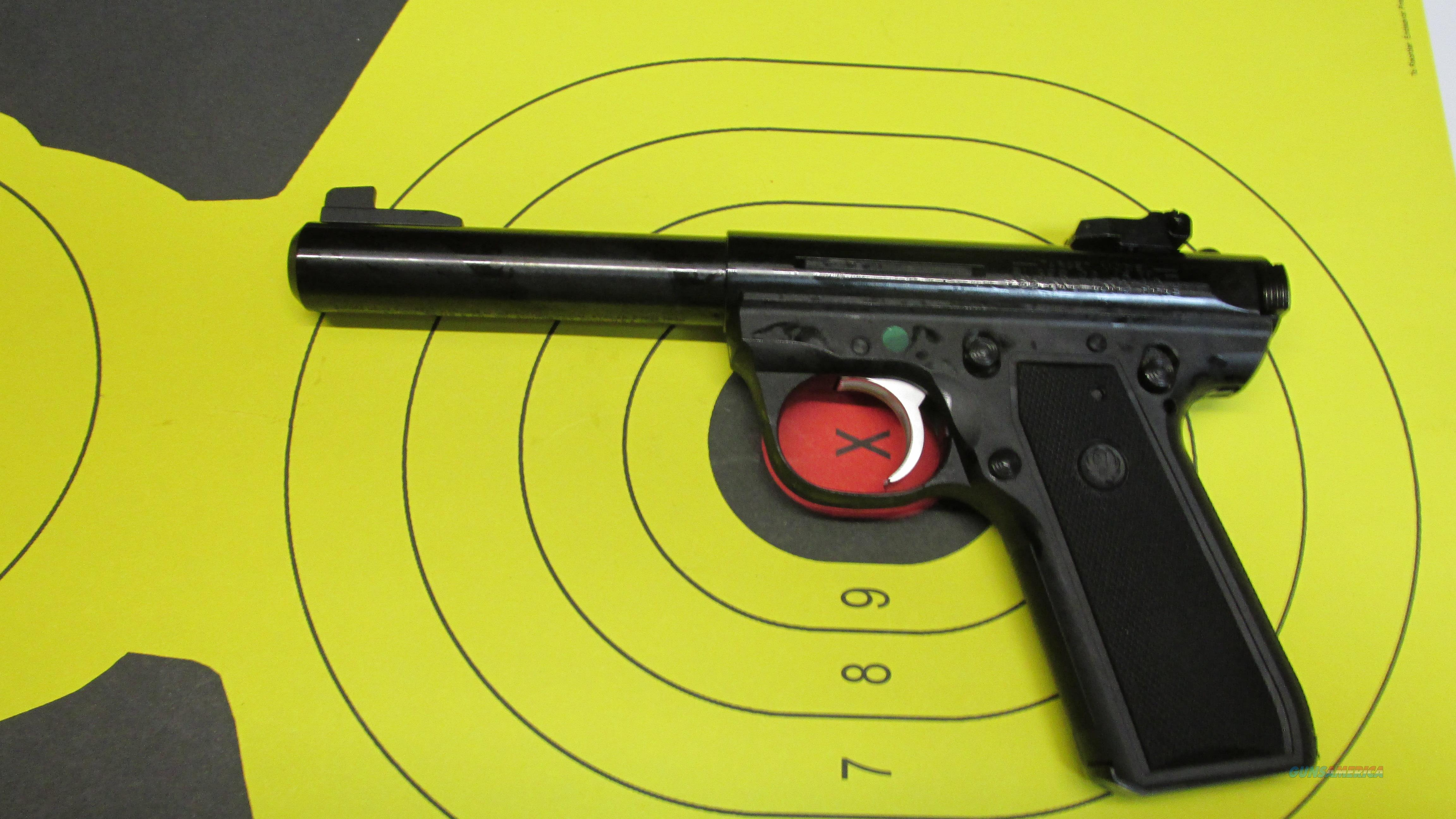 "RUGER 22/45 MKIII BLUED 22LR PISTOL 2 10 ROUND MAGAZINES WITH 5"" BARREL  Guns > Pistols > Ruger Semi-Auto Pistols > 22/45"