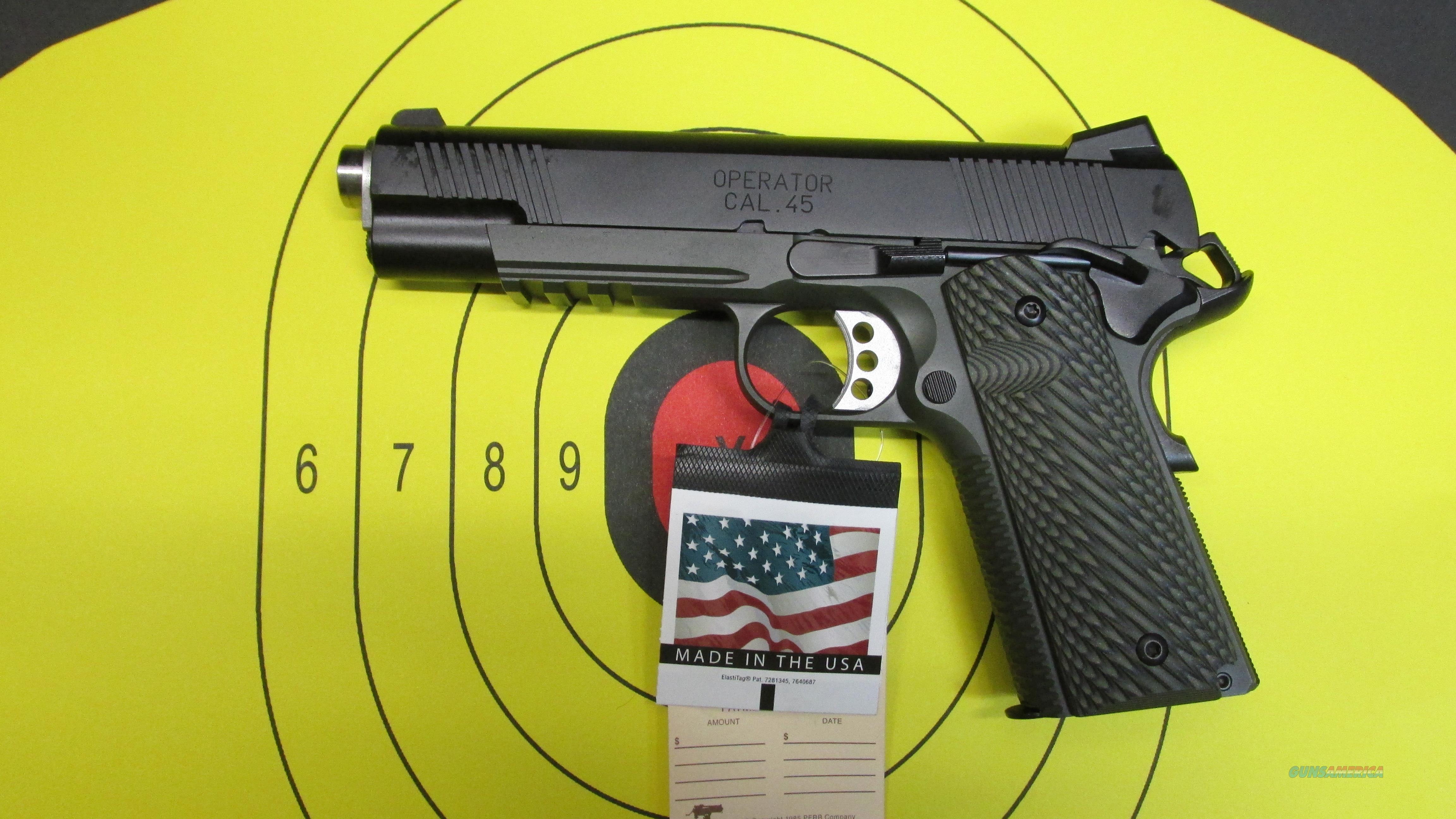 Springfield 1911 45 ACP Loaded Operator ODG  Guns > Pistols > Springfield Armory Pistols > 1911 Type