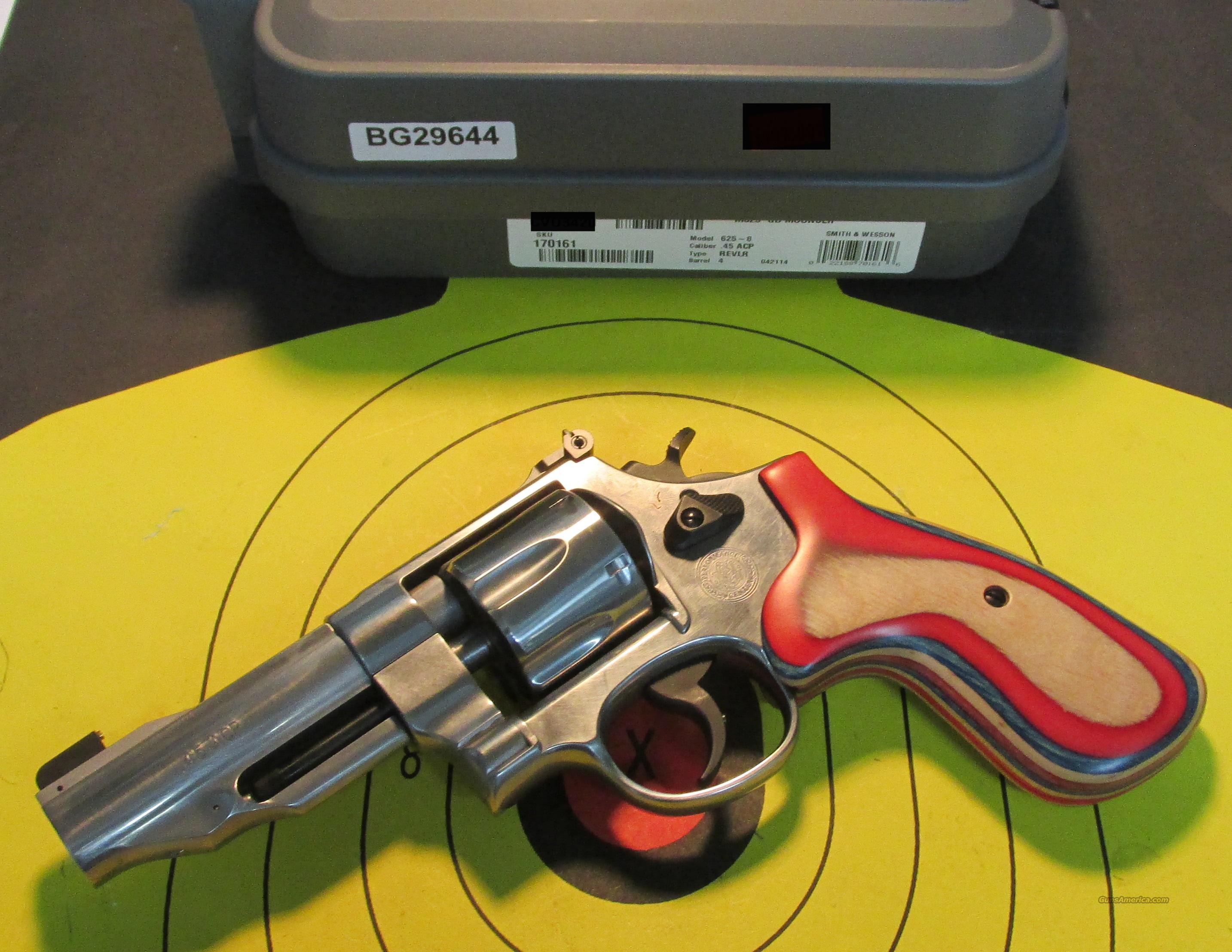 SMITH & WESSON 625 PERFORMANCE CENTER 45ACP REVOLVER (170161)  Guns > Pistols > Smith & Wesson Revolvers > Performance Center