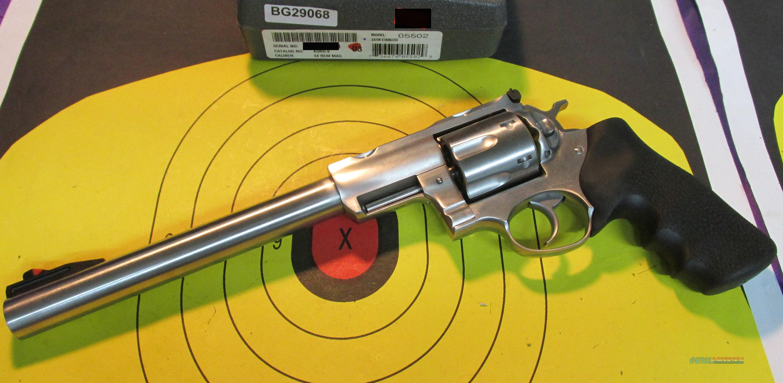 """RUGER SUPER REDHAWK KSRH-9 44 MAGNUM REVOLVER 9.5"""" BARREL ( 05502)  Guns > Pistols > Ruger Double Action Revolver > Redhawk Type"""