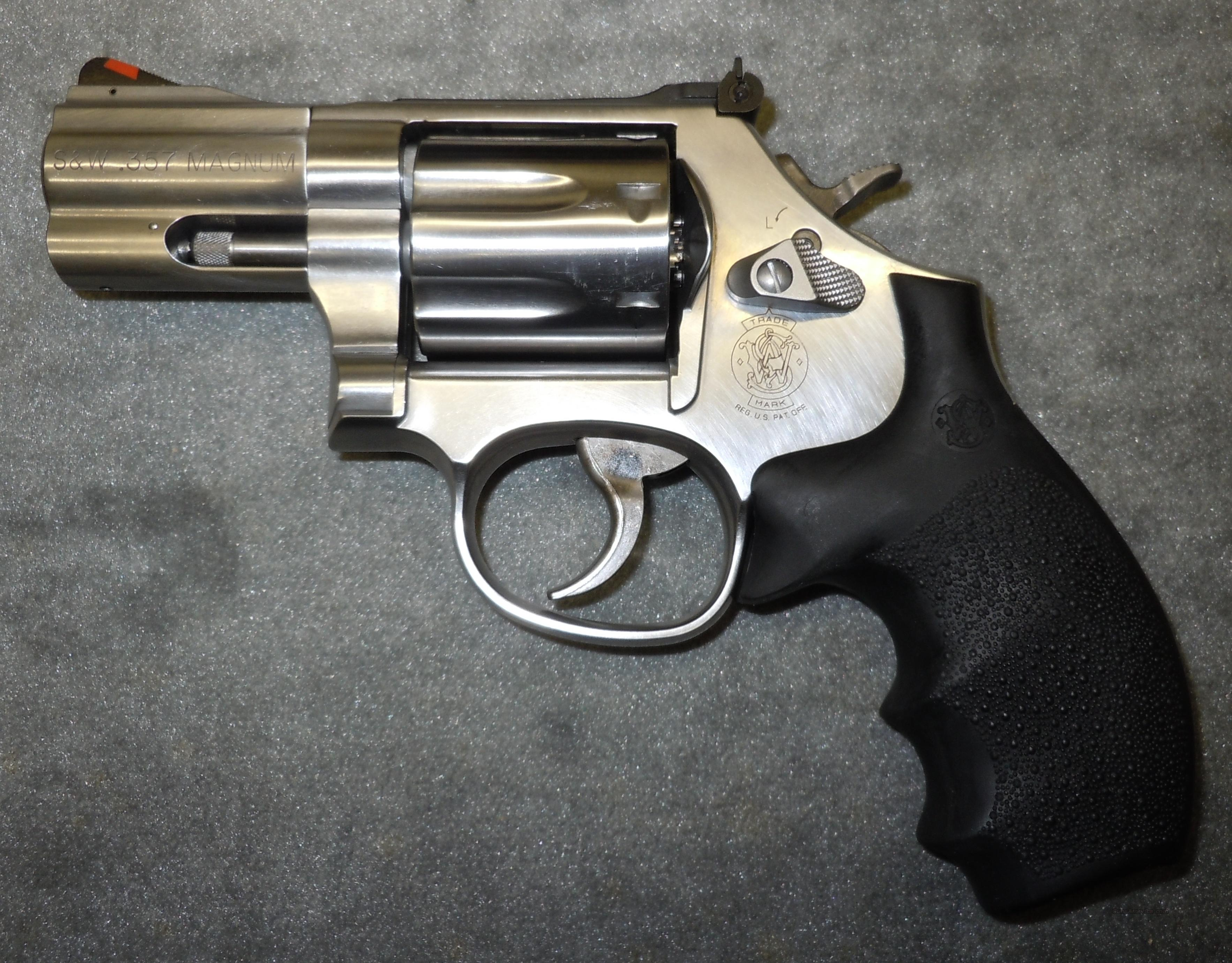 SMITH & WESSON 686 357 MAGNUM 7 SHOT STAINLESS ... for sale