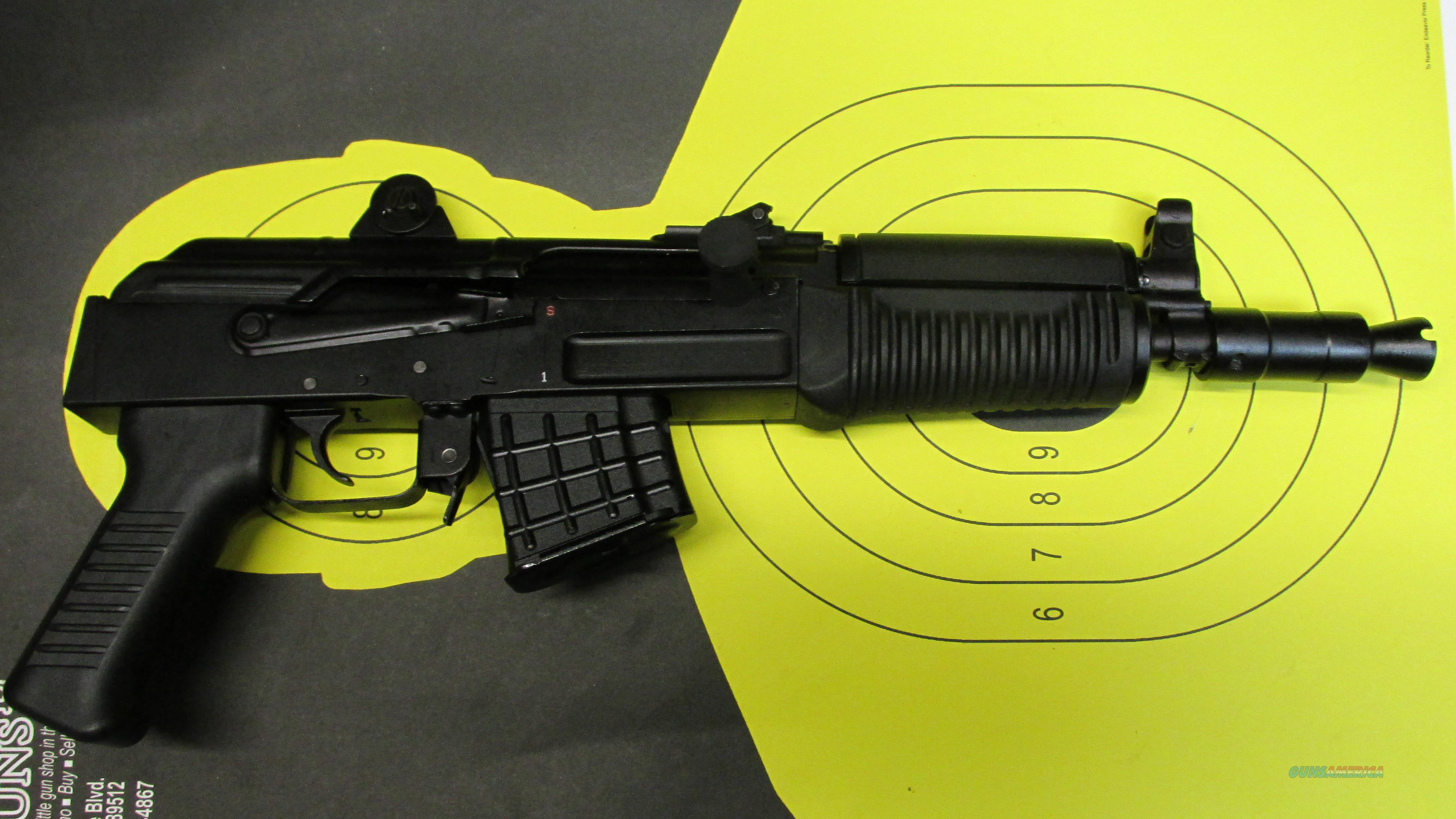 "ARESNAL SAM7K 7.62X39 PISTOL 5 ROUND MAGAZINE WITH 10.5"" BARREL  Guns > Pistols > A Misc Pistols"