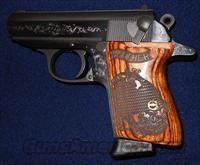 WALTHER PPK 380 ACP PISTOL (150989) *ENGRAVED*  Guns > Pistols > Walther Pistols > Post WWII > PPK Series