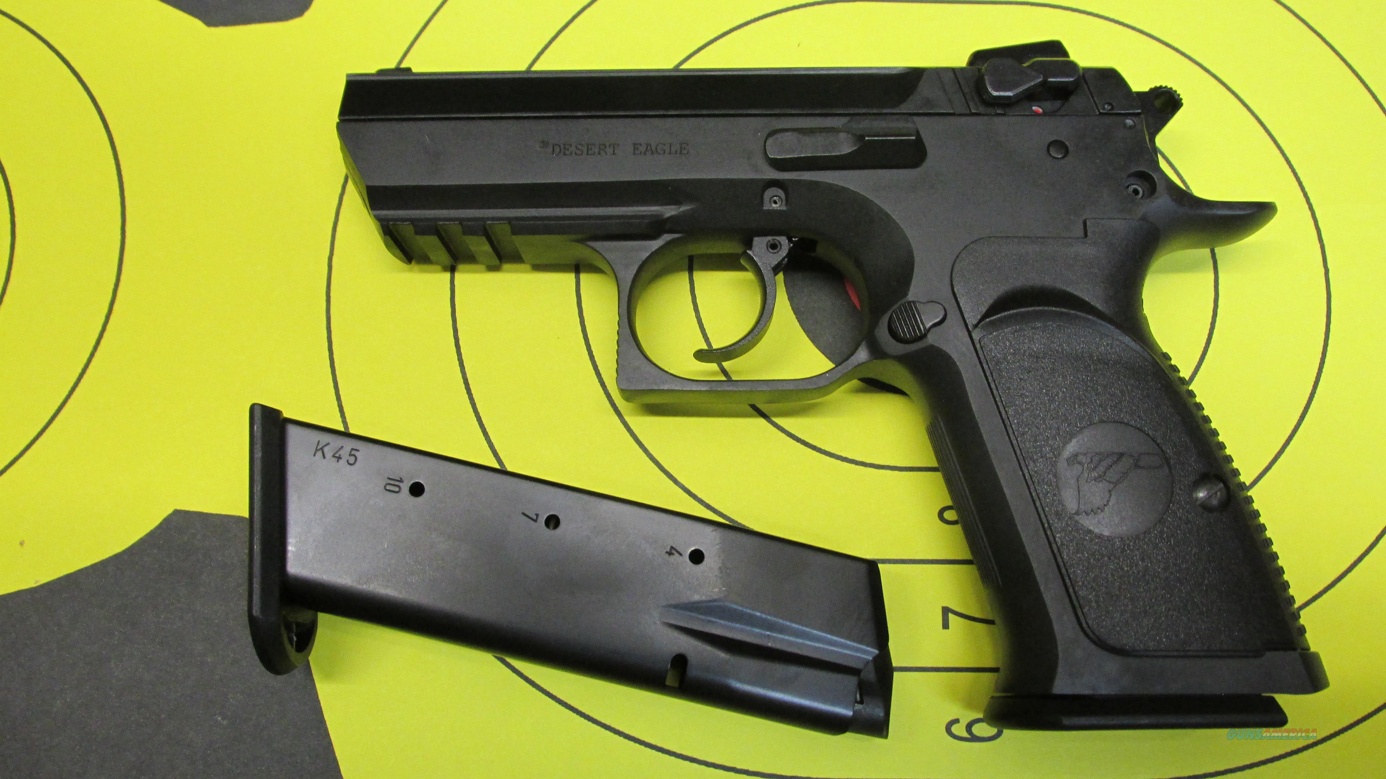 "MAGNUM RESEARCH BABY DESERT EAGLE III, .45ACP PISTOL WITH 3.9"" BARREL, (2) 10 ROUND MAGAZINES  Guns > Pistols > Magnum Research Pistols"