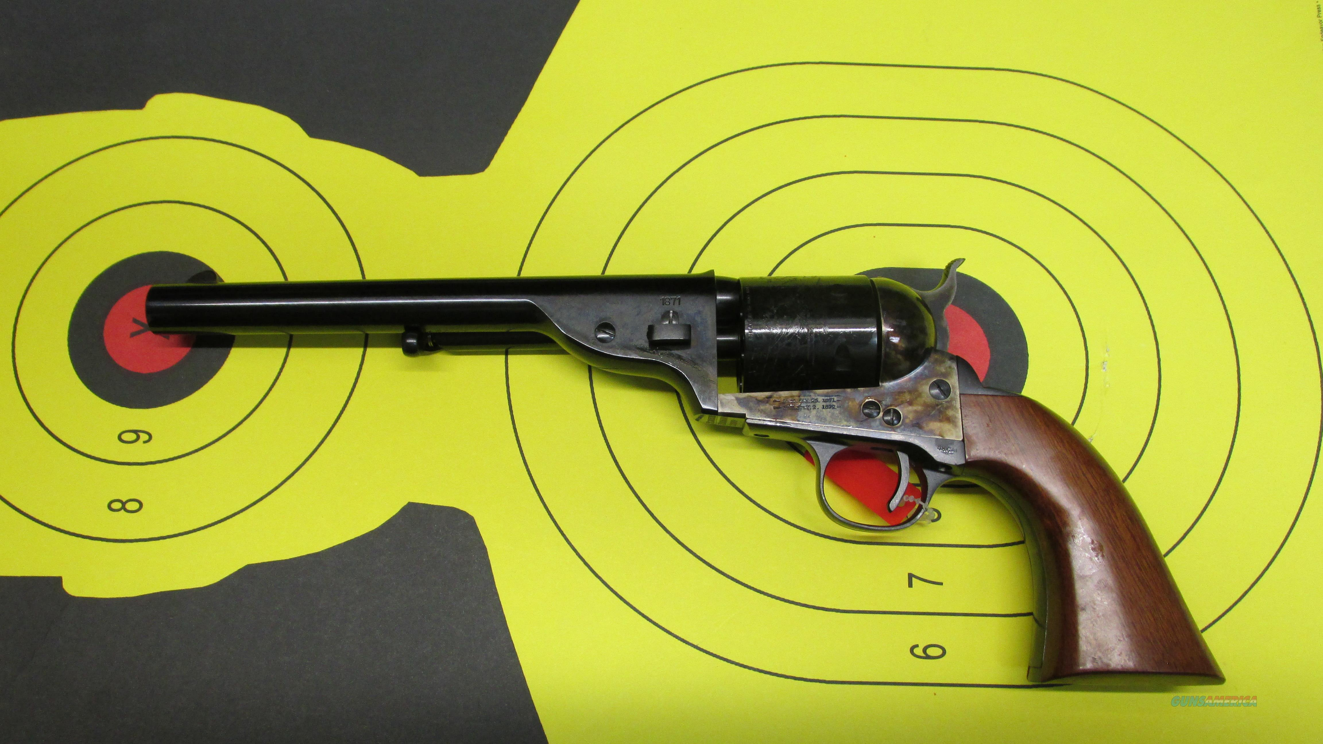 "CIMARRON OPEN TOP ARMY 45COLT 6 SHOT REVOLVER WITH 7.5"" BARREL  Guns > Pistols > Cimmaron Pistols"