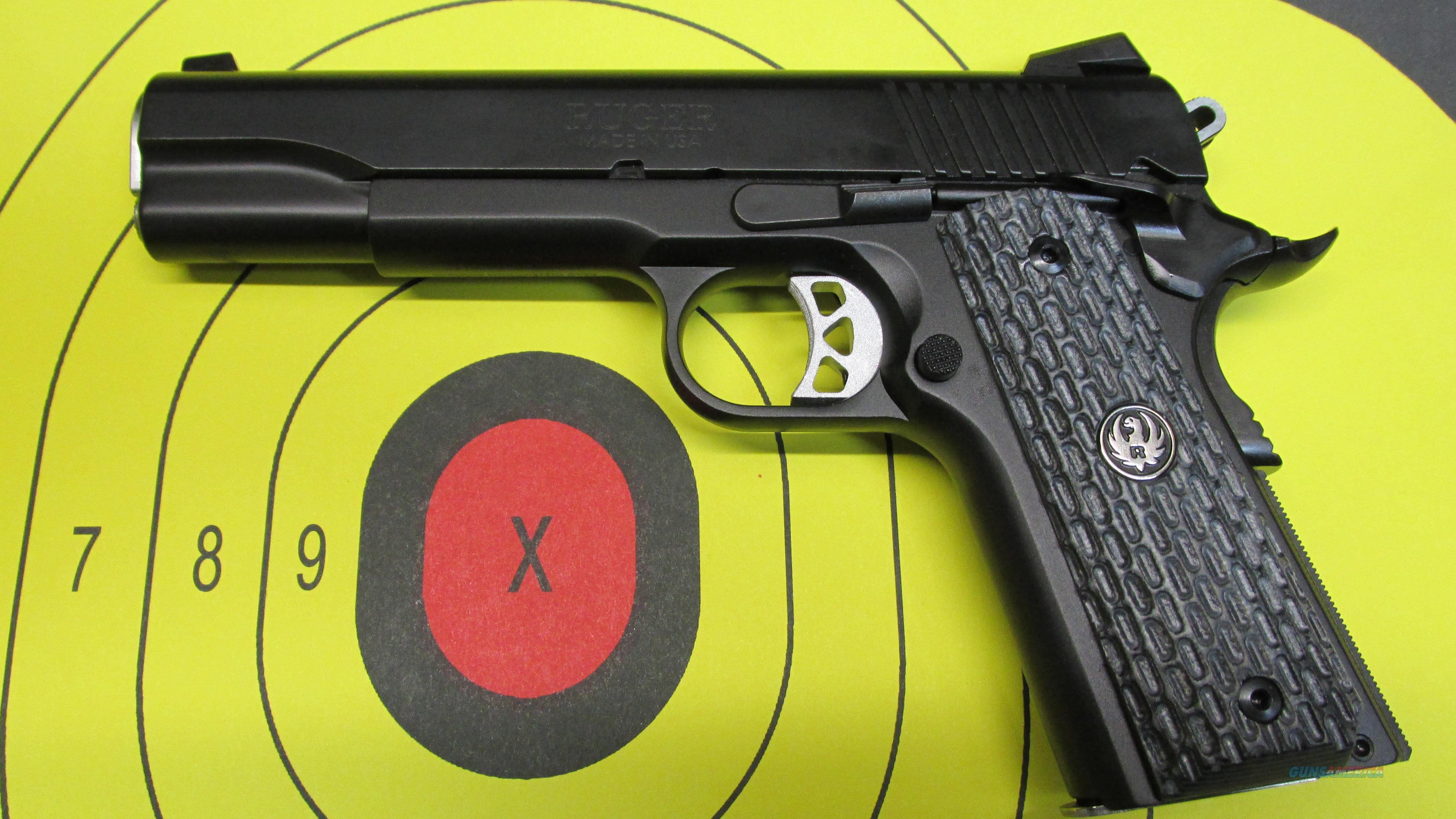 RUGER SR1911 NIGHT WATCHMAN 45ACP  Guns > Pistols > Ruger Semi-Auto Pistols > 1911