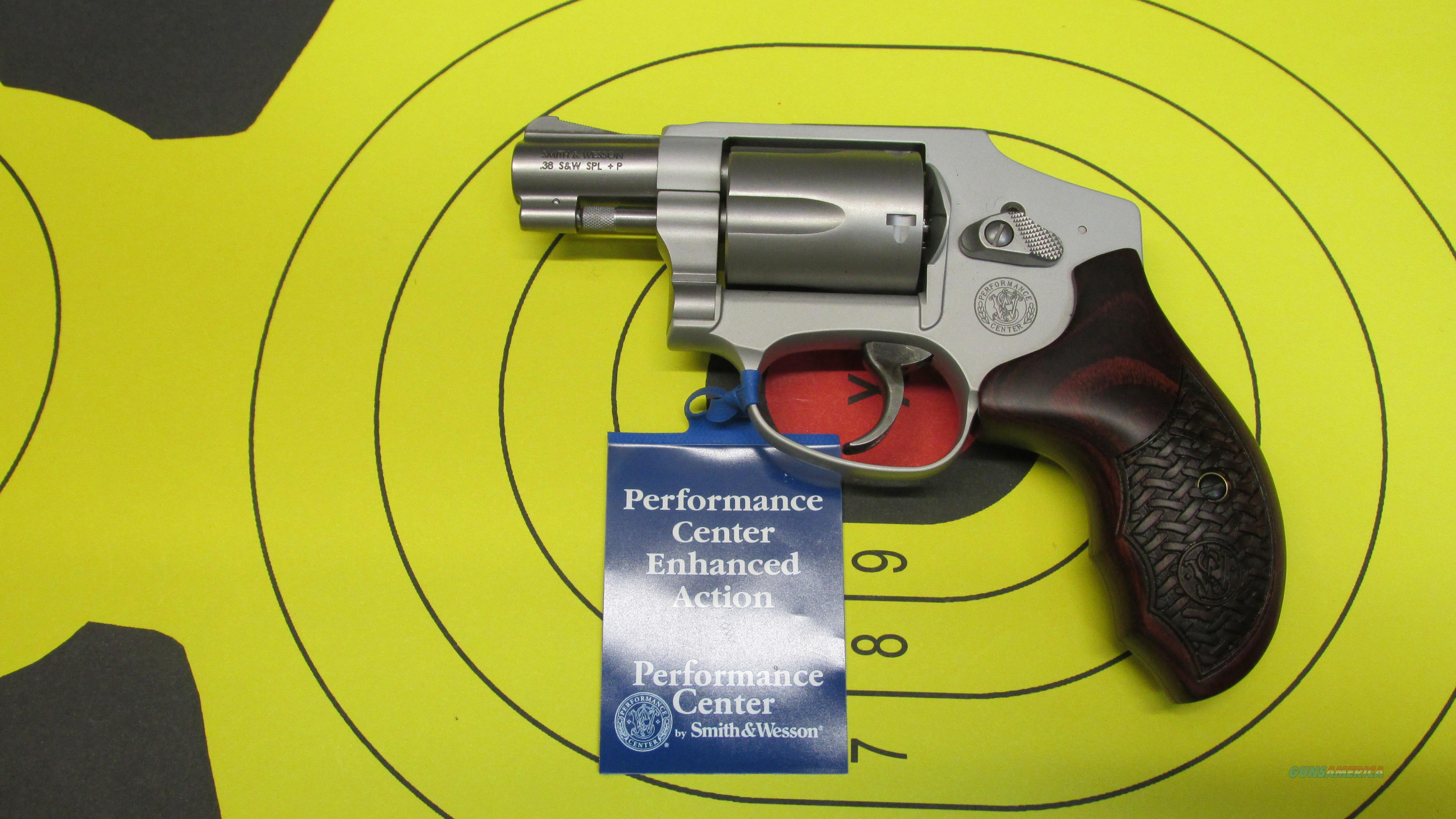 "SMITH &WESSON 642-2 PC ENHANCED ACTION .38 SPL 5 SHOT REVOLVER, 1.875"" BARREL  Guns > Pistols > Smith & Wesson Revolvers > Performance Center"