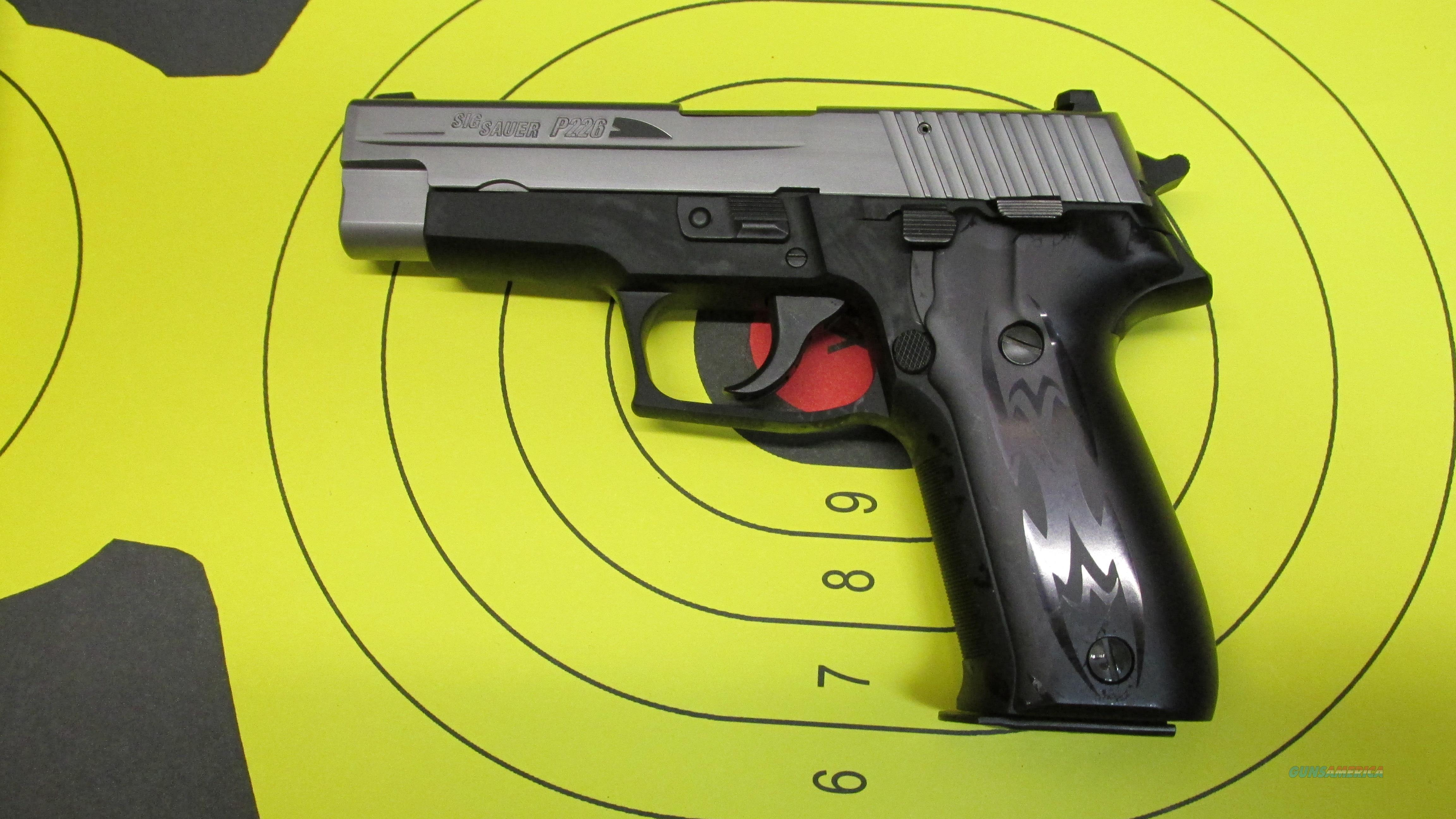 "SIG SAUER P226 TRIBAL 9MM 4.4"" BARREL 15 ROUND MAGAZINE (2)  Guns > Pistols > Sig - Sauer/Sigarms Pistols > P226"