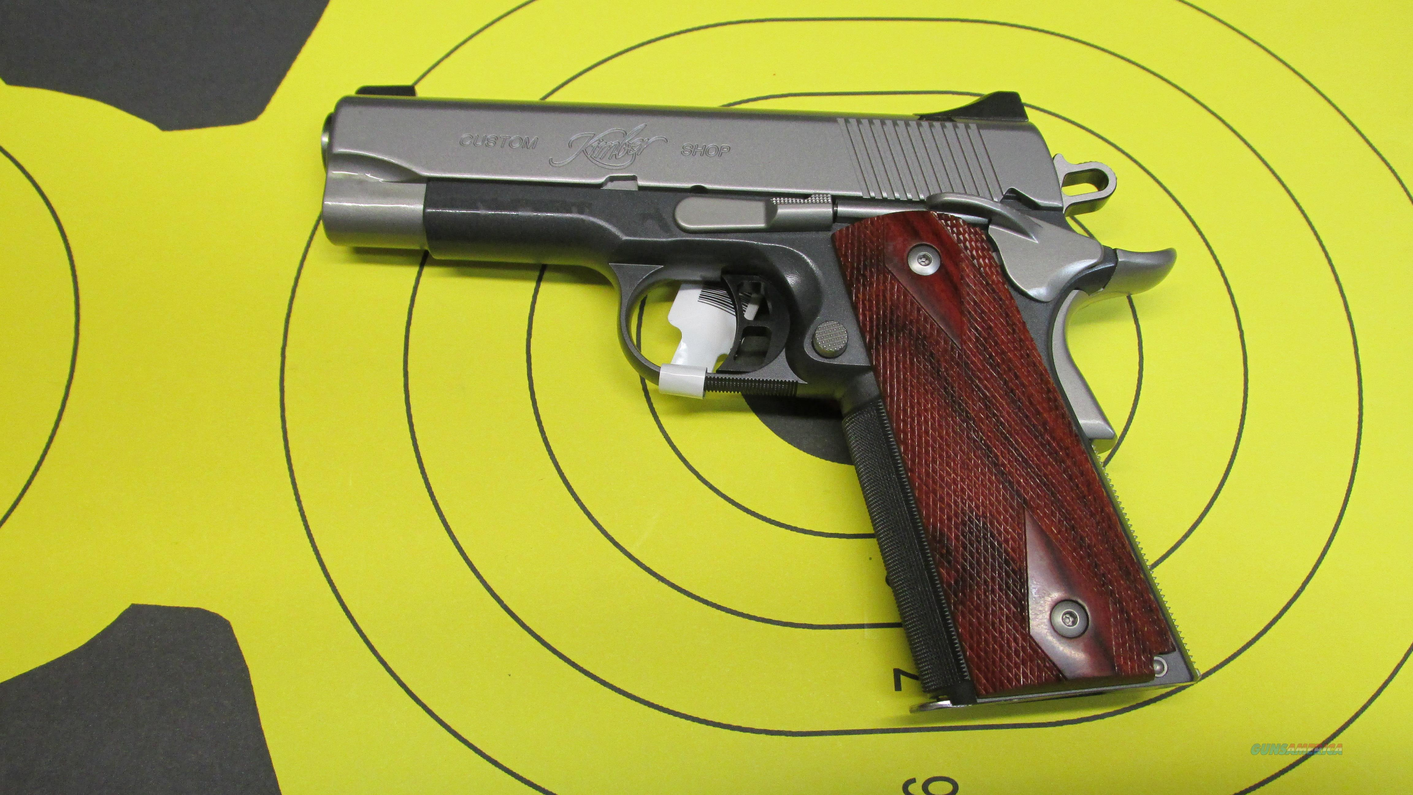 "KIMBER PRO CDP, 9MM PISTOL, NIGHT SIGHTS, 7 RD MAGAZINE, 4"" BARREL  Guns > Pistols > Kimber of America Pistols"