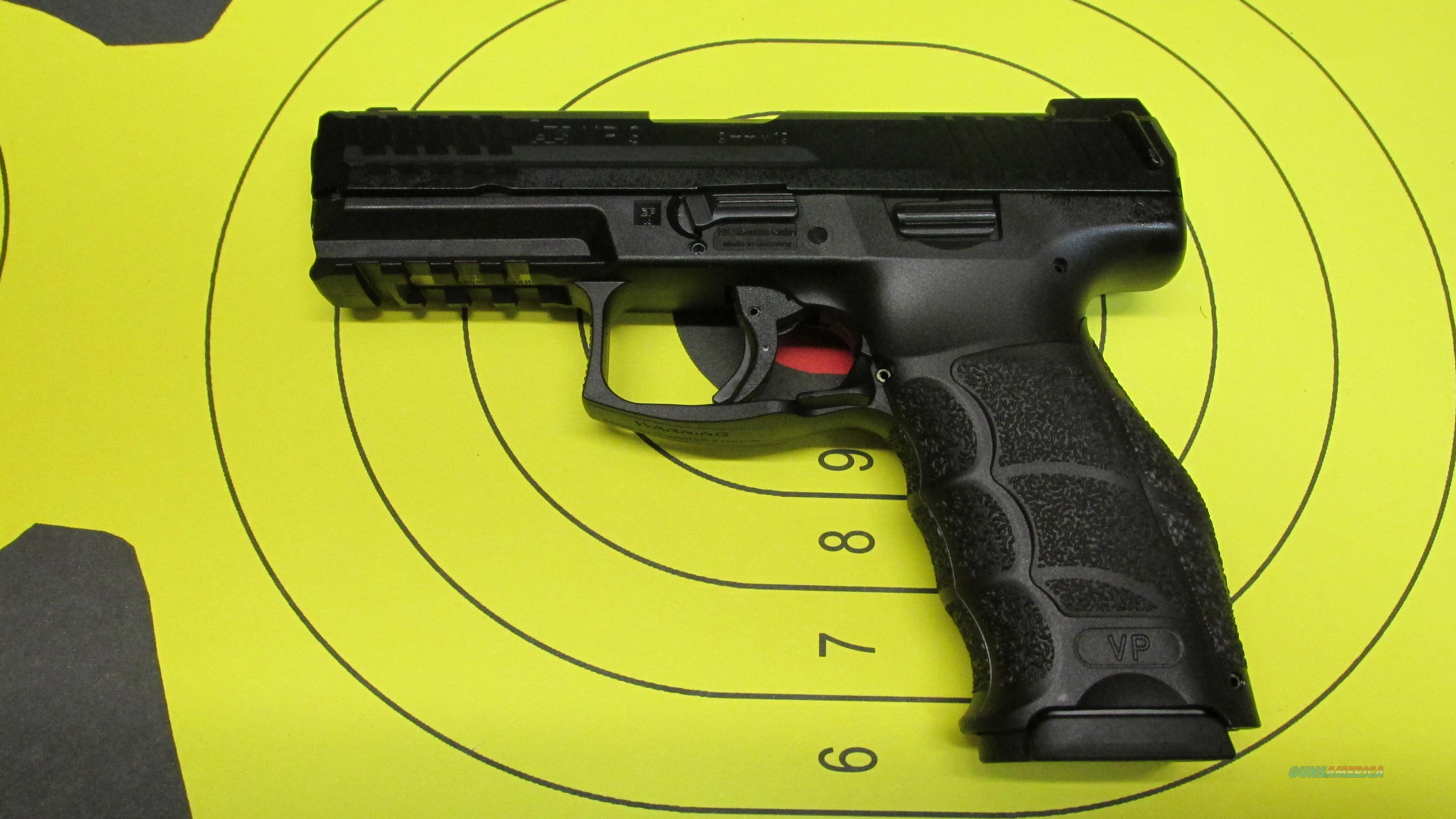 "HECKLER AND KOCH VP9 V19MM 4"" BARREL 15 ROUND MAGAZINE (3) NIGHT SIGHTS  Guns > Pistols > Heckler & Koch Pistols > Polymer Frame"