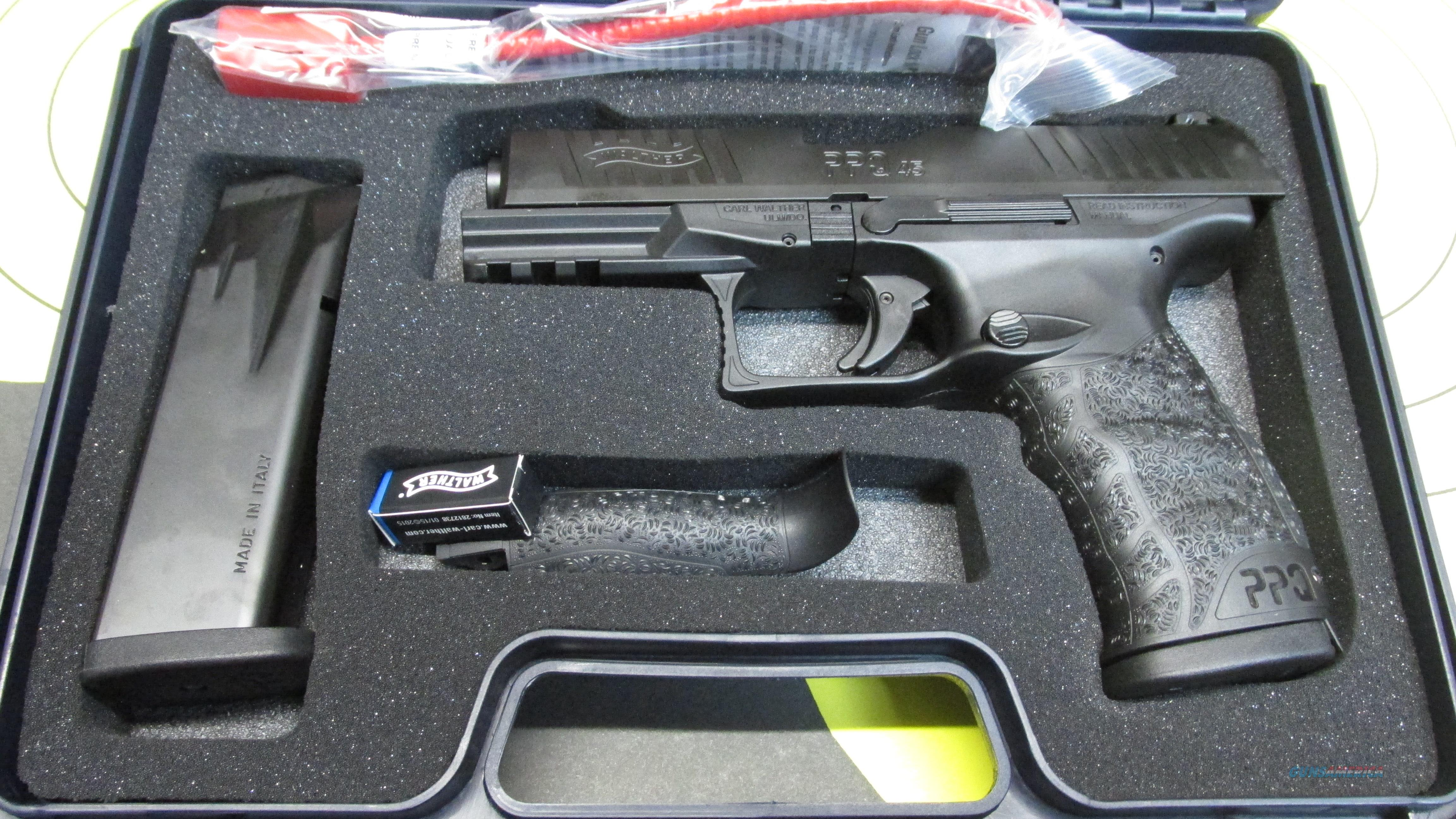Walther PPQ M2 45 ACP  Guns > Pistols > Walther Pistols > Post WWII > P99/PPQ