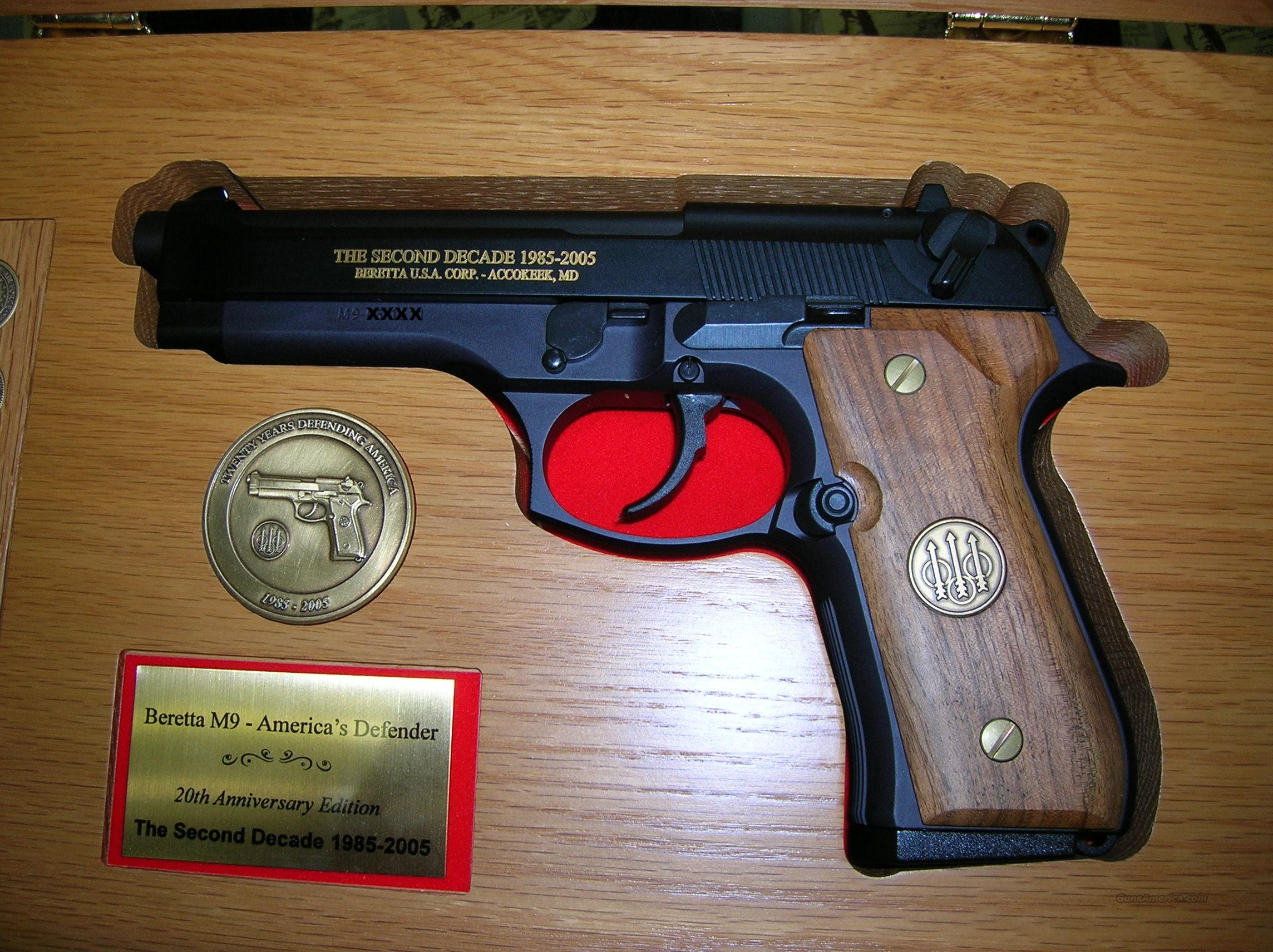 BERETTA M9 AMERICA'S DEFENDER 9MM COMMEMORATIVE... for sale