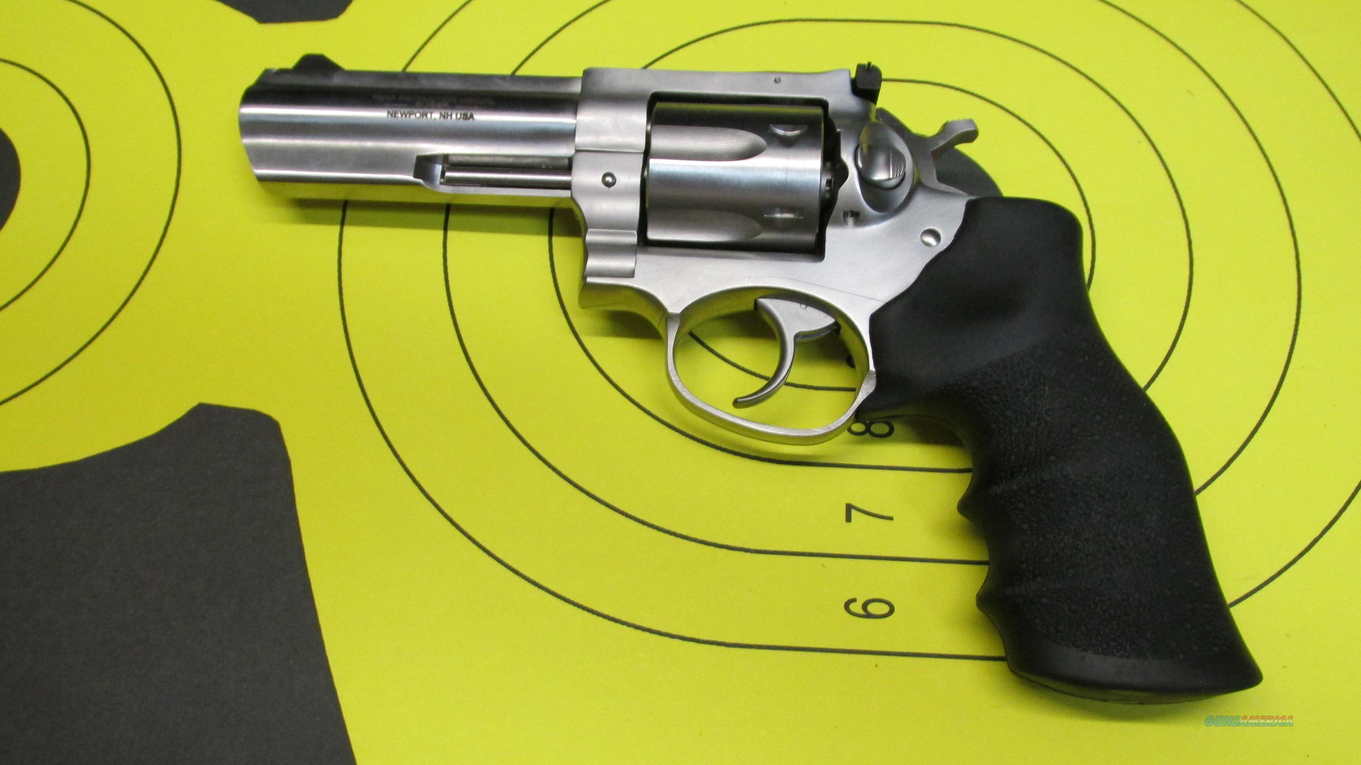"RUGER GP100 .357 MAGNUM 4"" BARREL 6 SHOT REVOLVER  Guns > Pistols > Ruger Double Action Revolver > GP100"