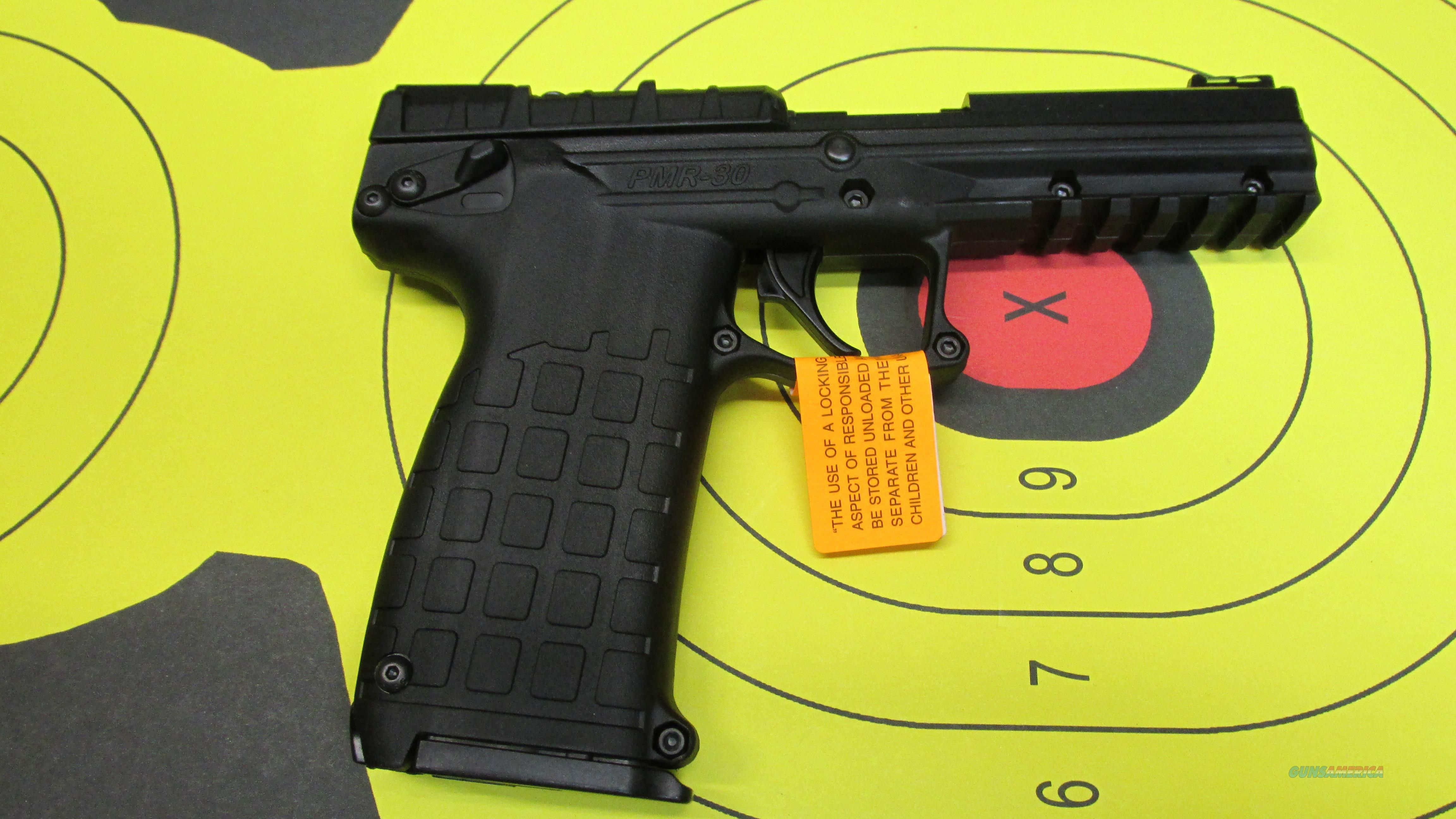 "KEL-TEC PMR-30 BLACK  FRAME .22WMR PISTOL, (2) 30 ROUND MAGAZINES, FIBER OPTIC SIGHTS, 4.3"" BARREL  Guns > Pistols > Kel-Tec Pistols > .223 Type"