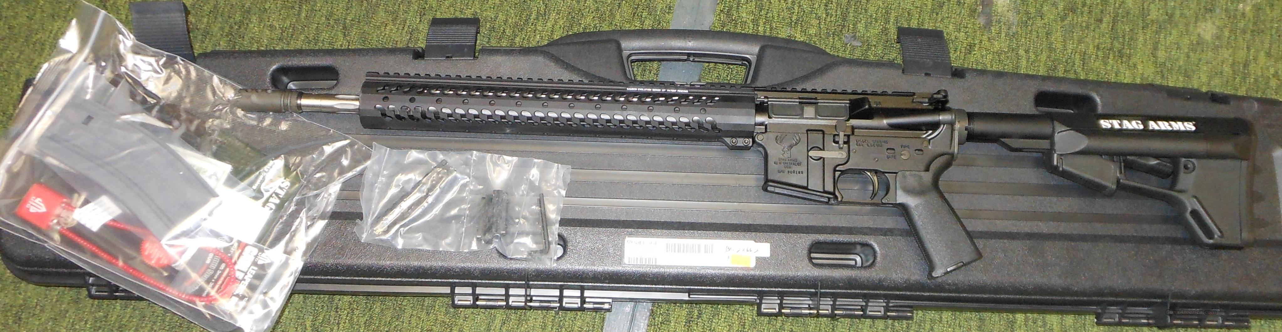 STAG 3GL 5.56 NATO AR RIFLE OPTIMIZED FOR 3 GUN COMPETITION *LEFT HANDED*  Guns > Rifles > Stag Arms > Complete Rifles