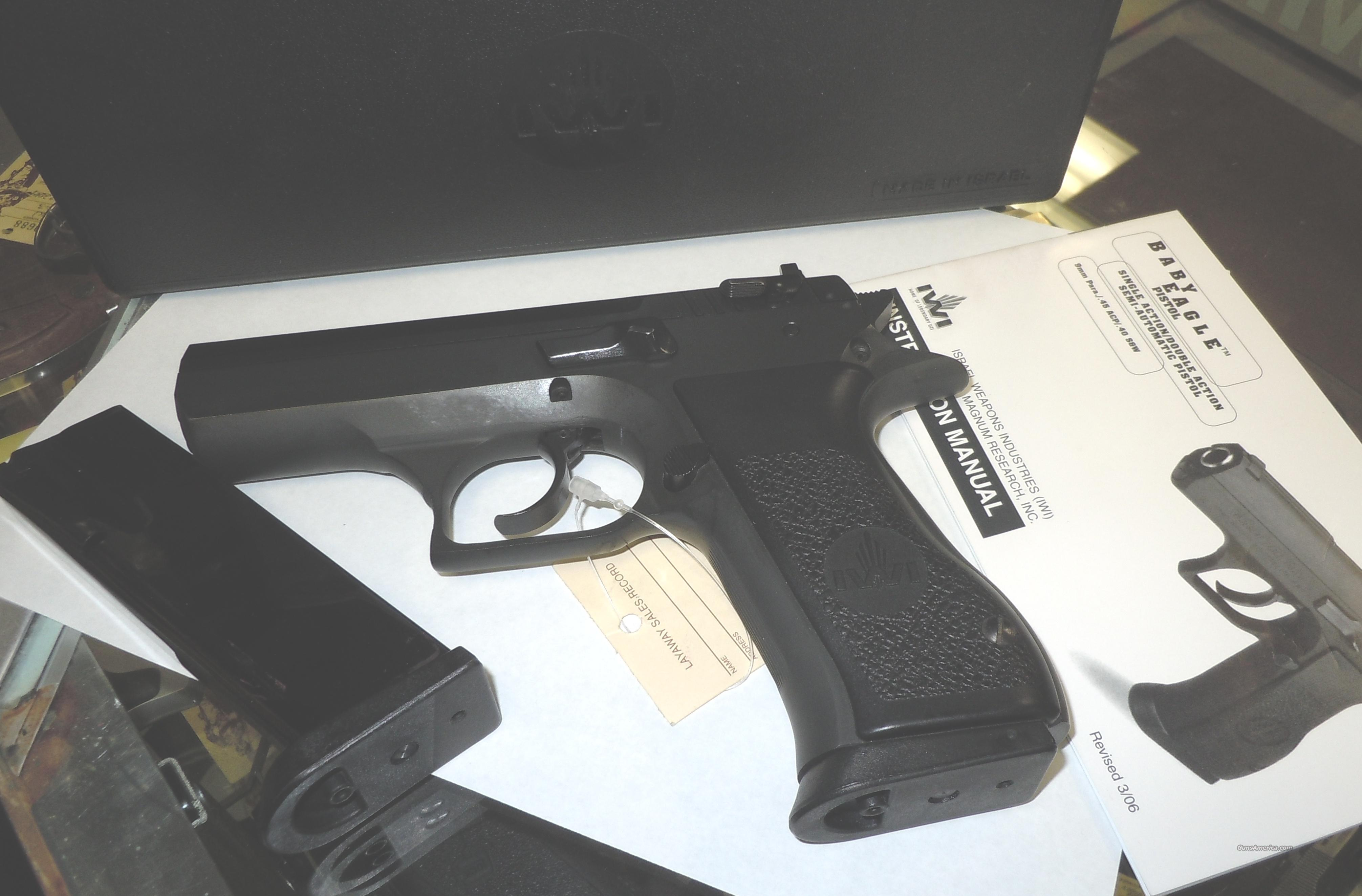 MAGNUM RESEARCH (IWI) BABY EAGLE 45 ACP PISTOL   Guns > Pistols > Magnum Research Pistols
