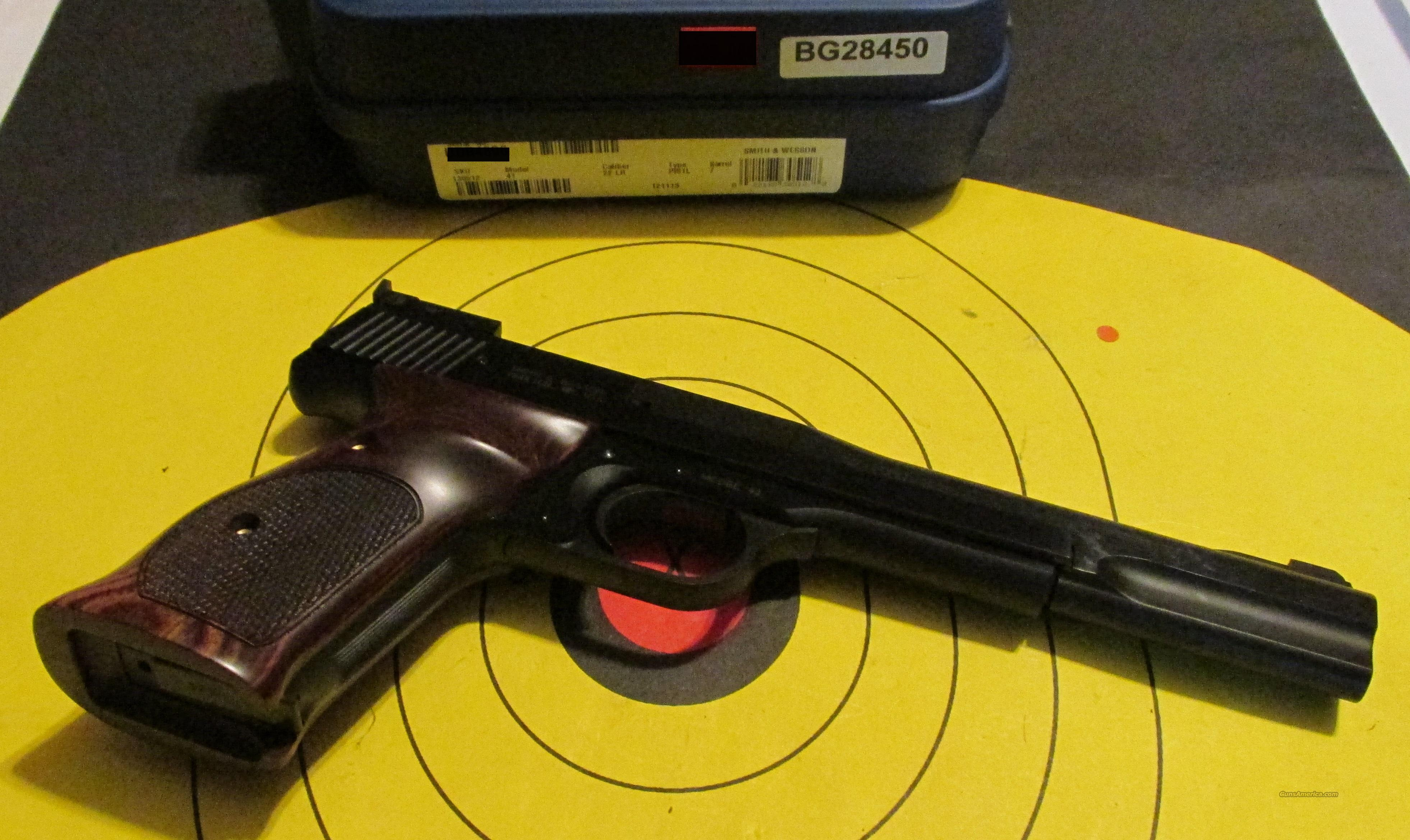 "SMITH & WESSON MODEL 41 7"" PISTOL (130512)  Guns > Pistols > Smith & Wesson Pistols - Autos > .22 Autos"