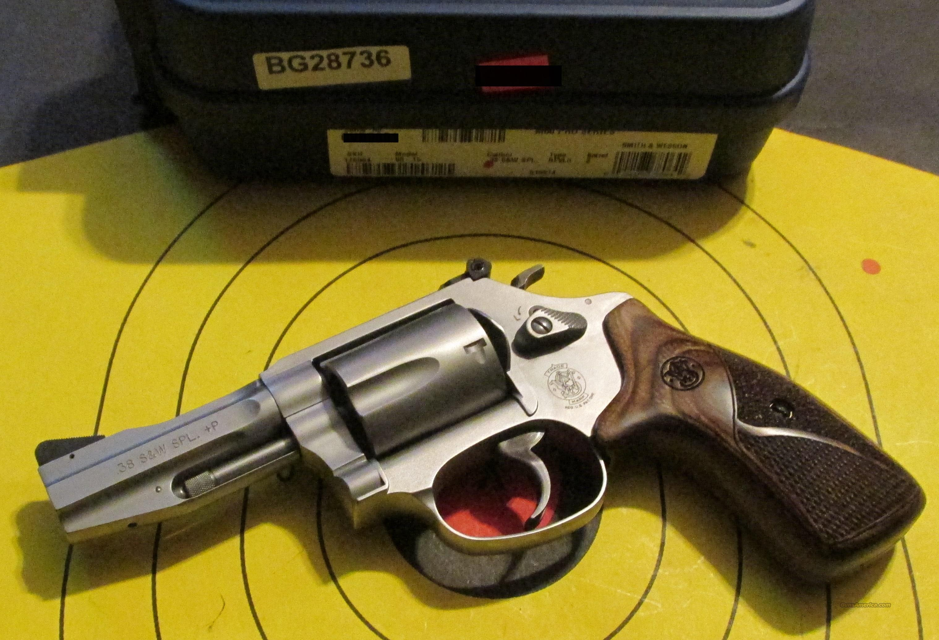 SMITH & WESSON M60 PRO 60-15 38SPECIAL (178064)  Guns > Pistols > Smith & Wesson Revolvers > Full Frame Revolver