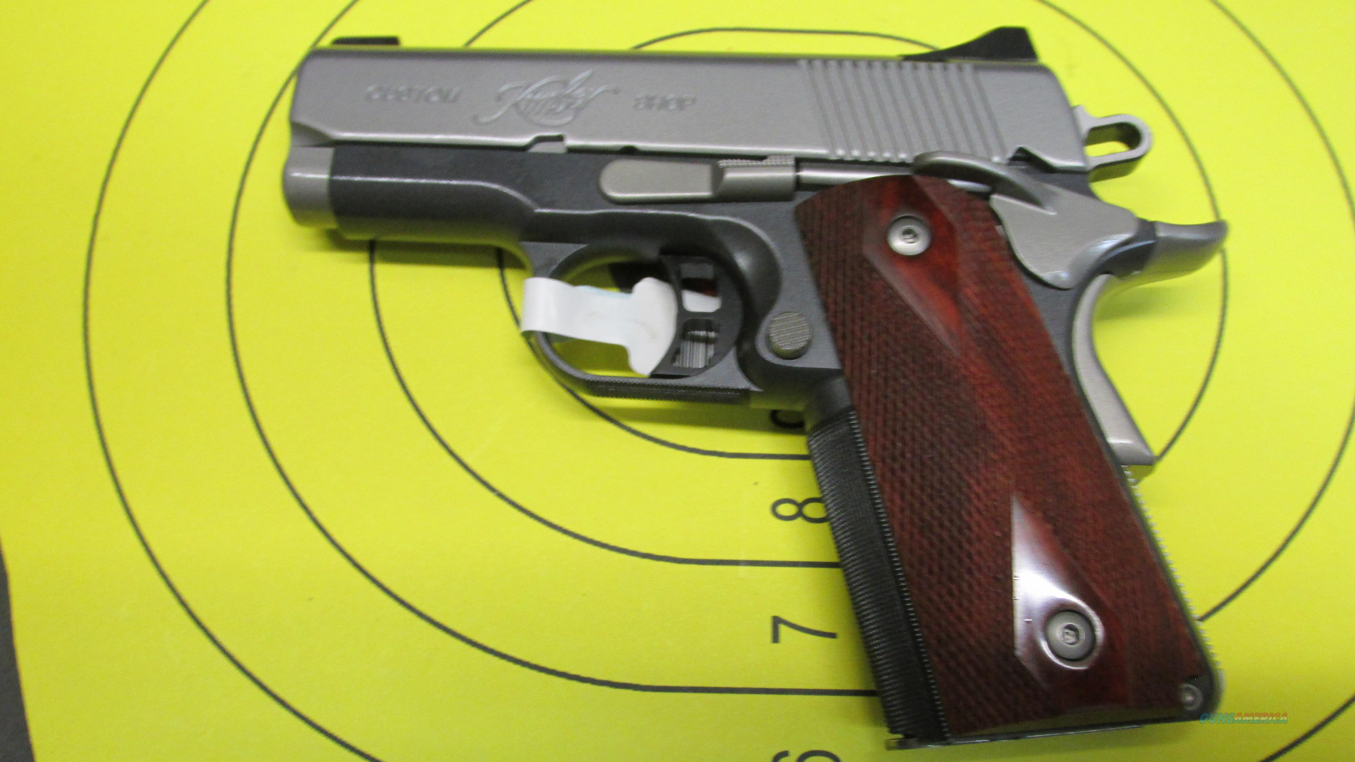 "KIMBER ULTRA CDP, 9MM PISTOL, NIGHT SIGHTS, 8 RD MAGAZINE, 3"" BARREL  Guns > Pistols > Kimber of America Pistols"