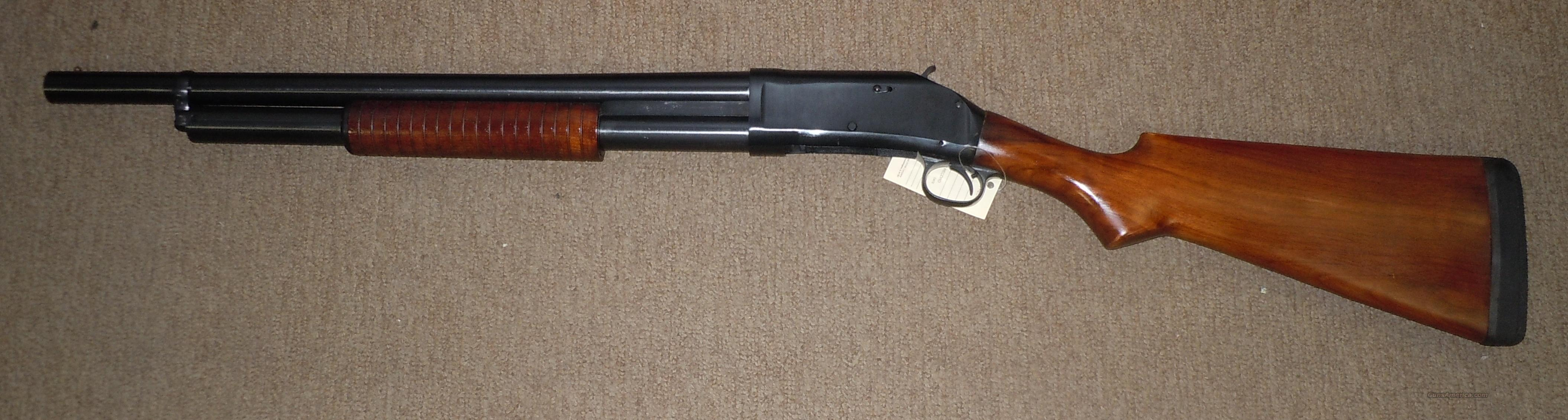 "CIMARRON (POLYTECH) 1897 12 GA PUMP SHOTGUN 20"" BARREL  Guns > Shotguns > Cimmaron Shotguns"