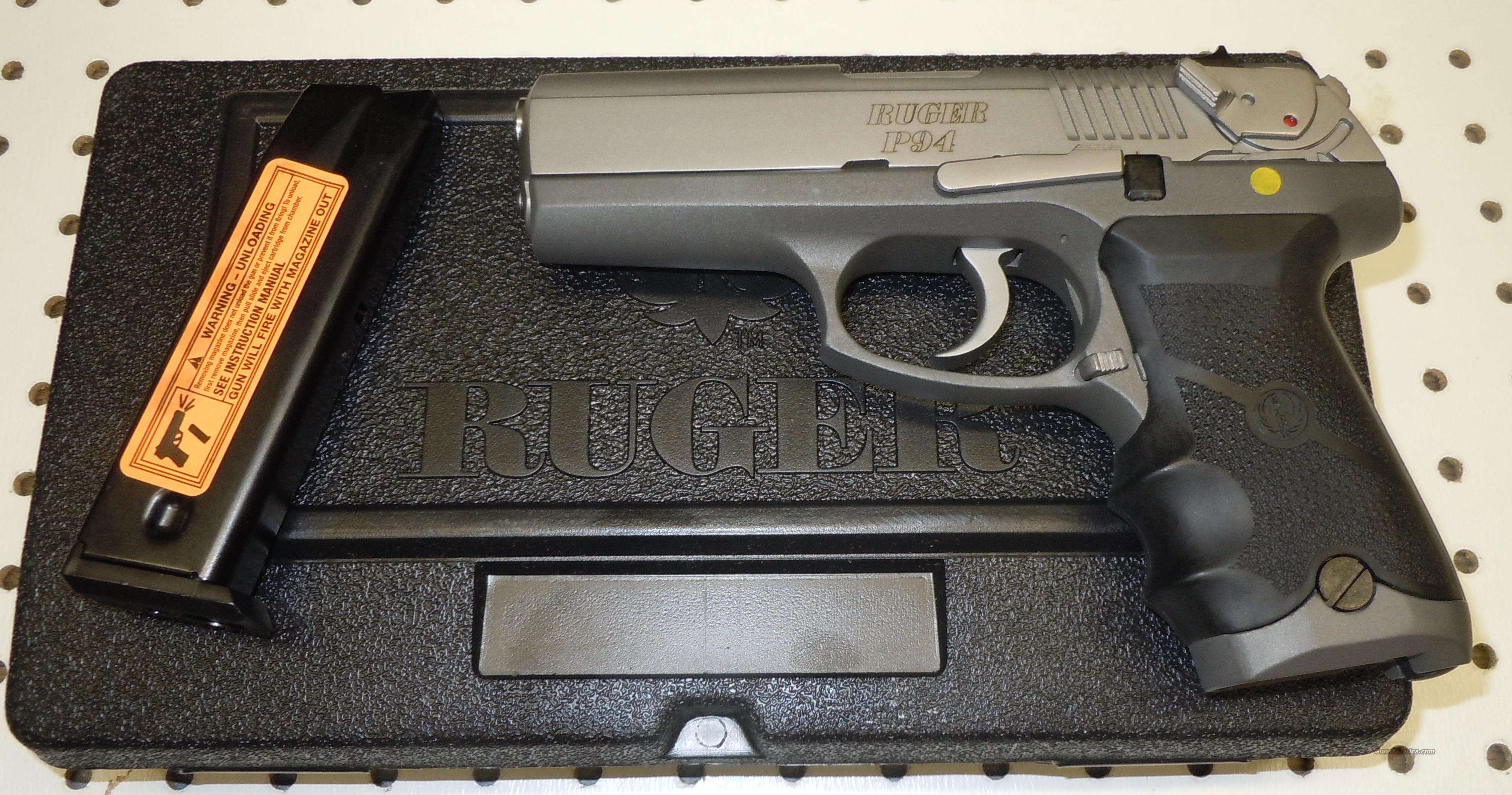 RUGER P944 40S&W PISTOL W/ HOGUE GRIPS (KP944TH) (03428) *OUT OF PRODUCTION*  Guns > Pistols > Ruger Semi-Auto Pistols > P-Series