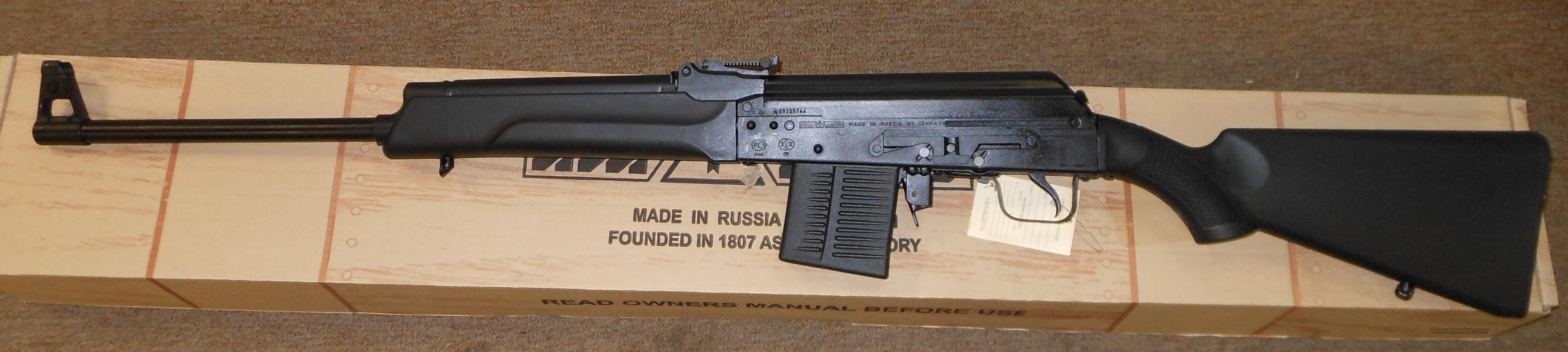 "KVAR SAIGA IZ-139 308 WIN (7.62X51 NATO) KALASHNIKOV RIFLE W/ 22"" BARREL  Guns > Rifles > Saiga Rifles"