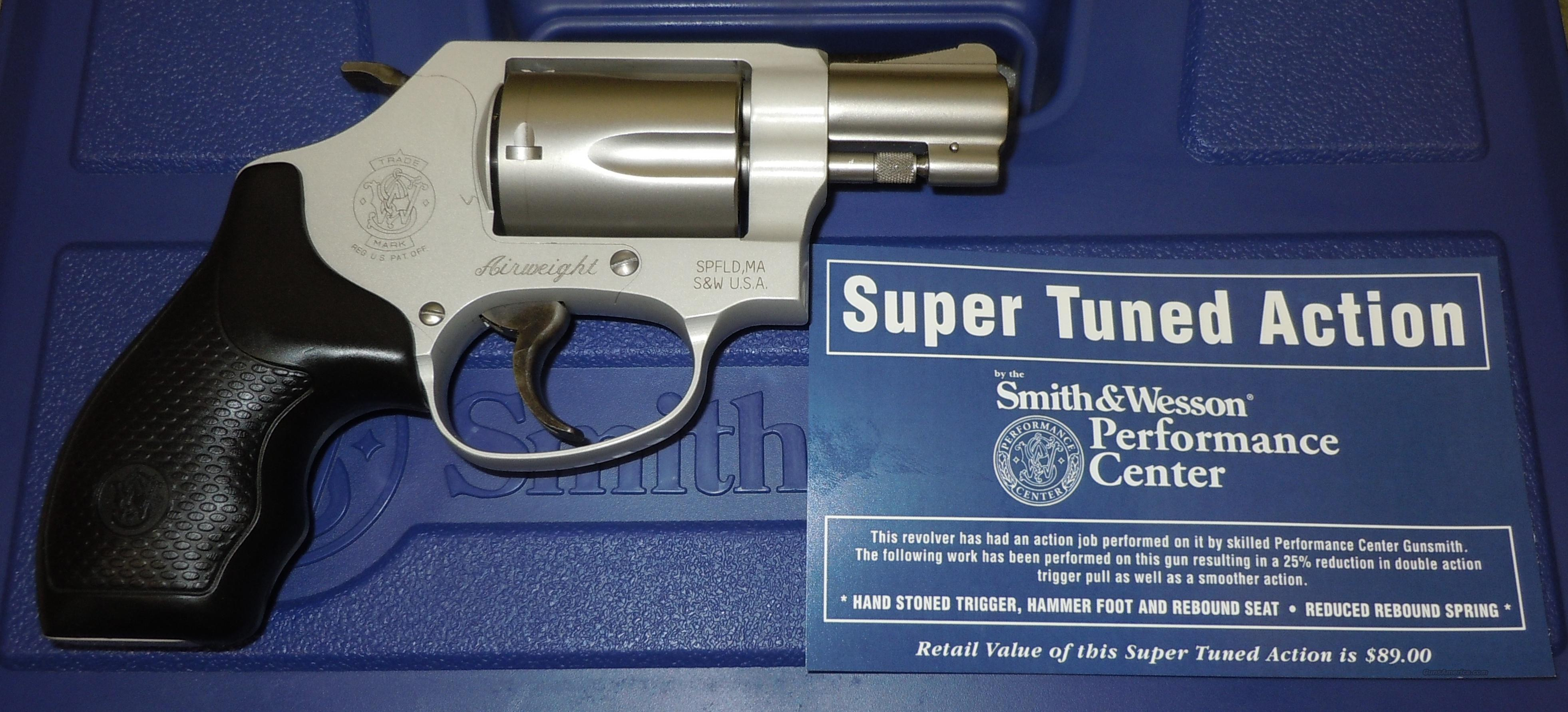 SMITH & WESSON 637 CHEIF'S SPECIAL AIRWEIGHT 38 SPECIAL 5 SHOT REVOLVER (178024) *SUPER TUNED*  Guns > Pistols > Smith & Wesson Revolvers > Pocket Pistols