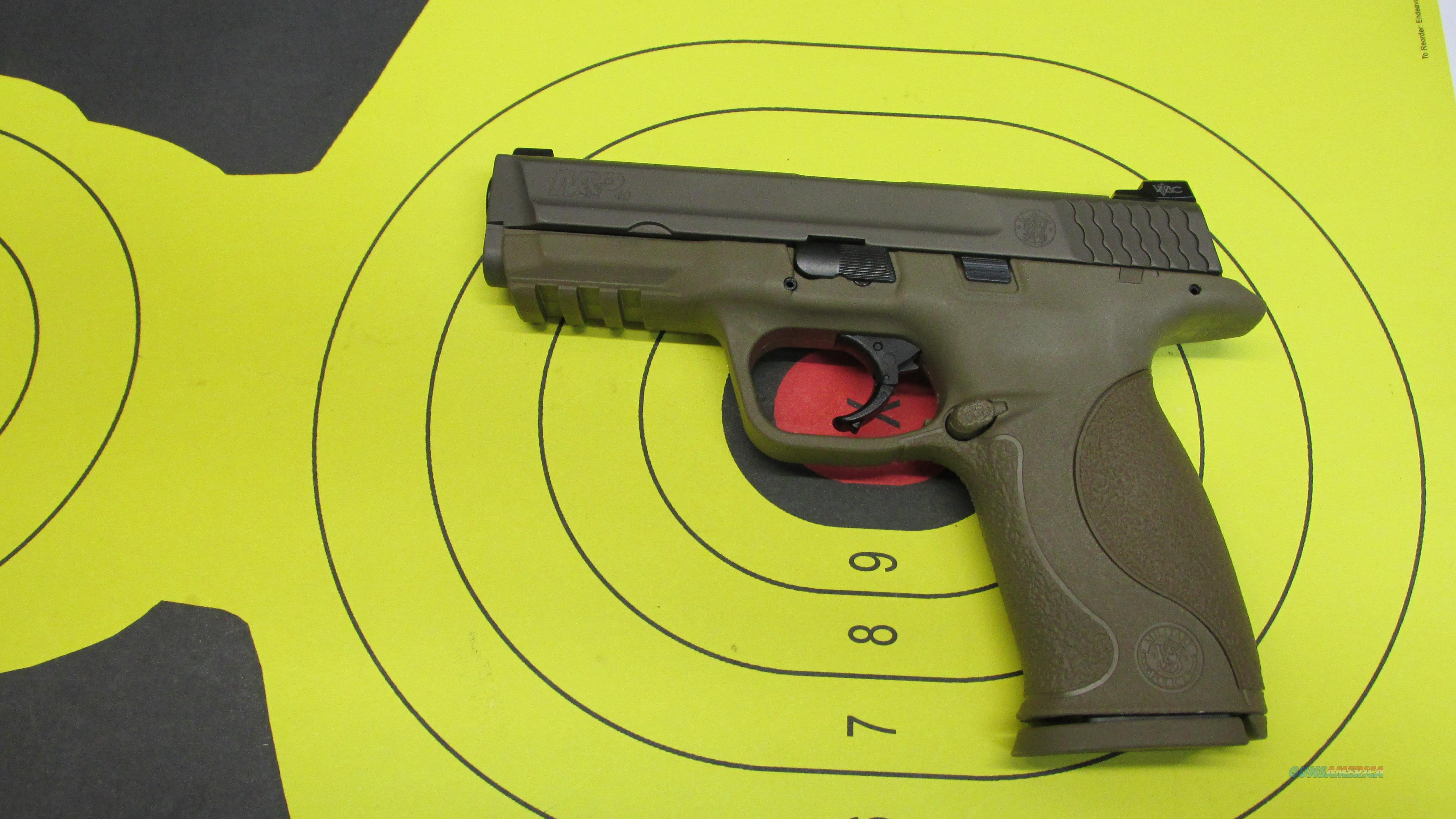 "SMITH & WESSON M&P40 VTAC, FULL FDE .40 S&W PISTOL, 2 14 ROUND MAGAZINES, 4.25"" BARREL  Guns > Pistols > Smith & Wesson Pistols - Autos > Polymer Frame"