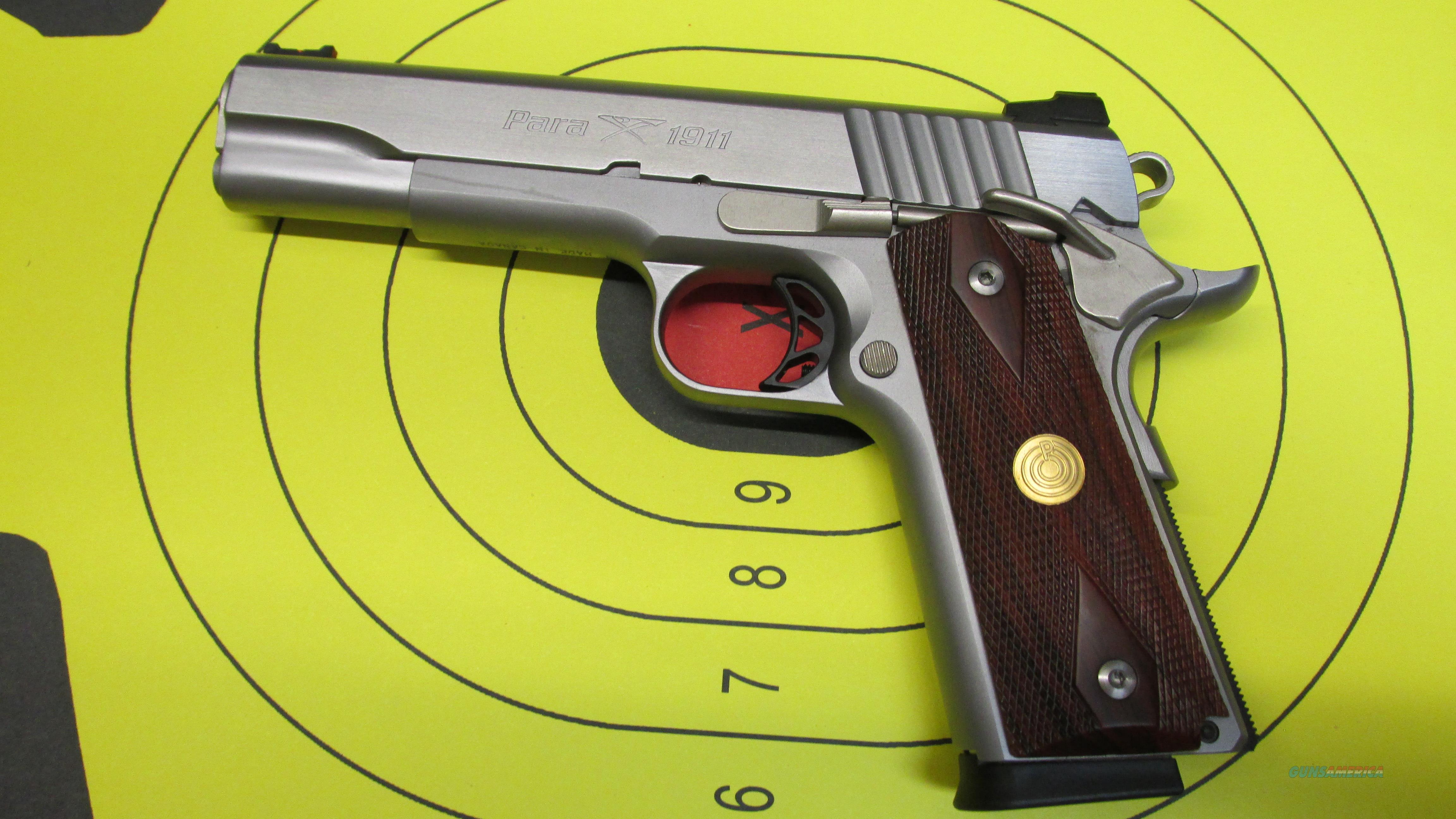 "PARA ORDNANCE 1911 STAINLESS .45 ACP PISTOL 8 ROUND MAGAZINE 5"" BARREL  Guns > Pistols > Para Ordnance Pistols"