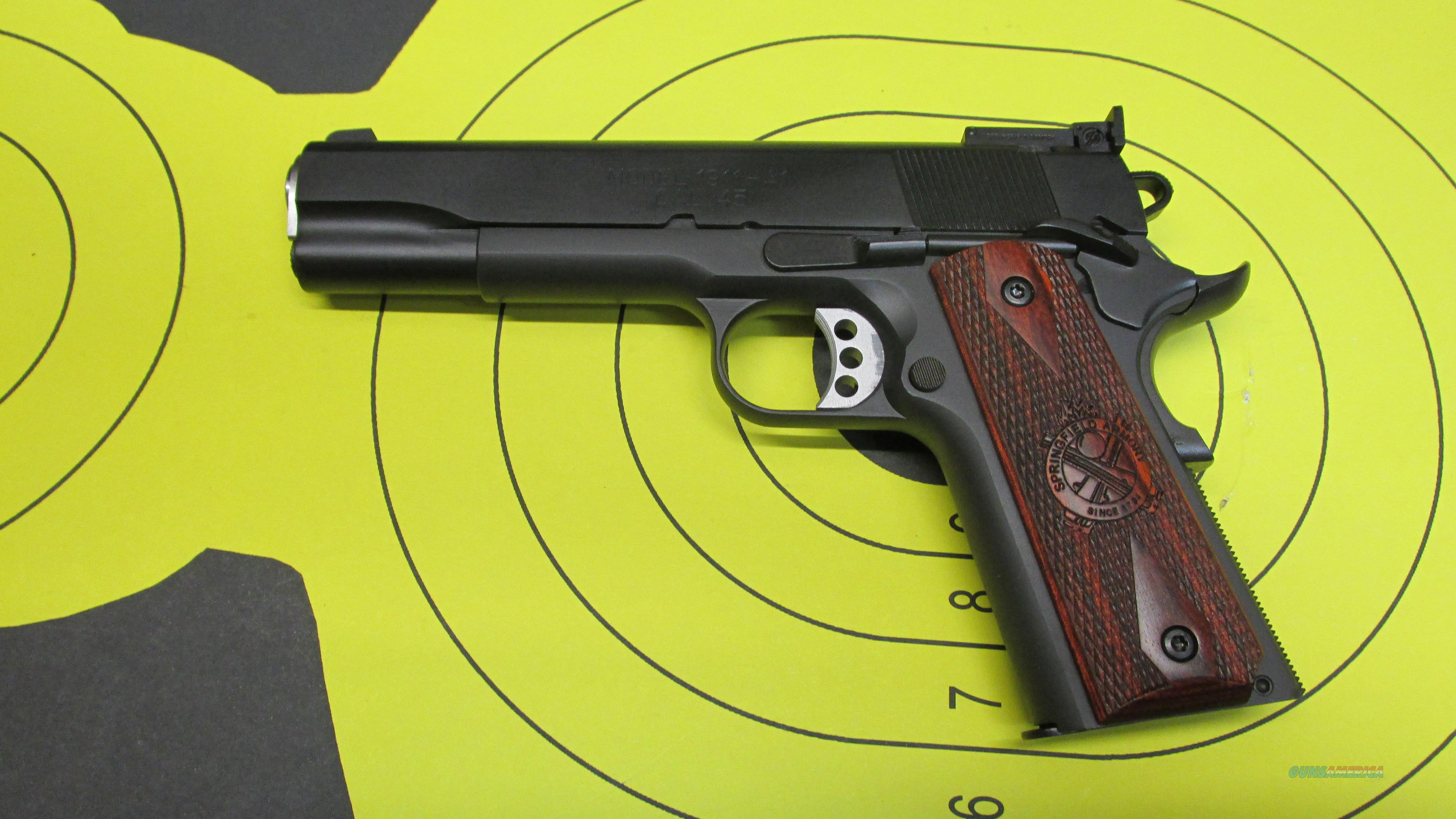 "SPRINGFIELD ARMORY 1911-A1 RANGE OFFICER .45ACP PISTOL 2 7 ROUND MAGAZINES WITH 5"" BARREL  Guns > Pistols > Springfield Armory Pistols > 1911 Type"