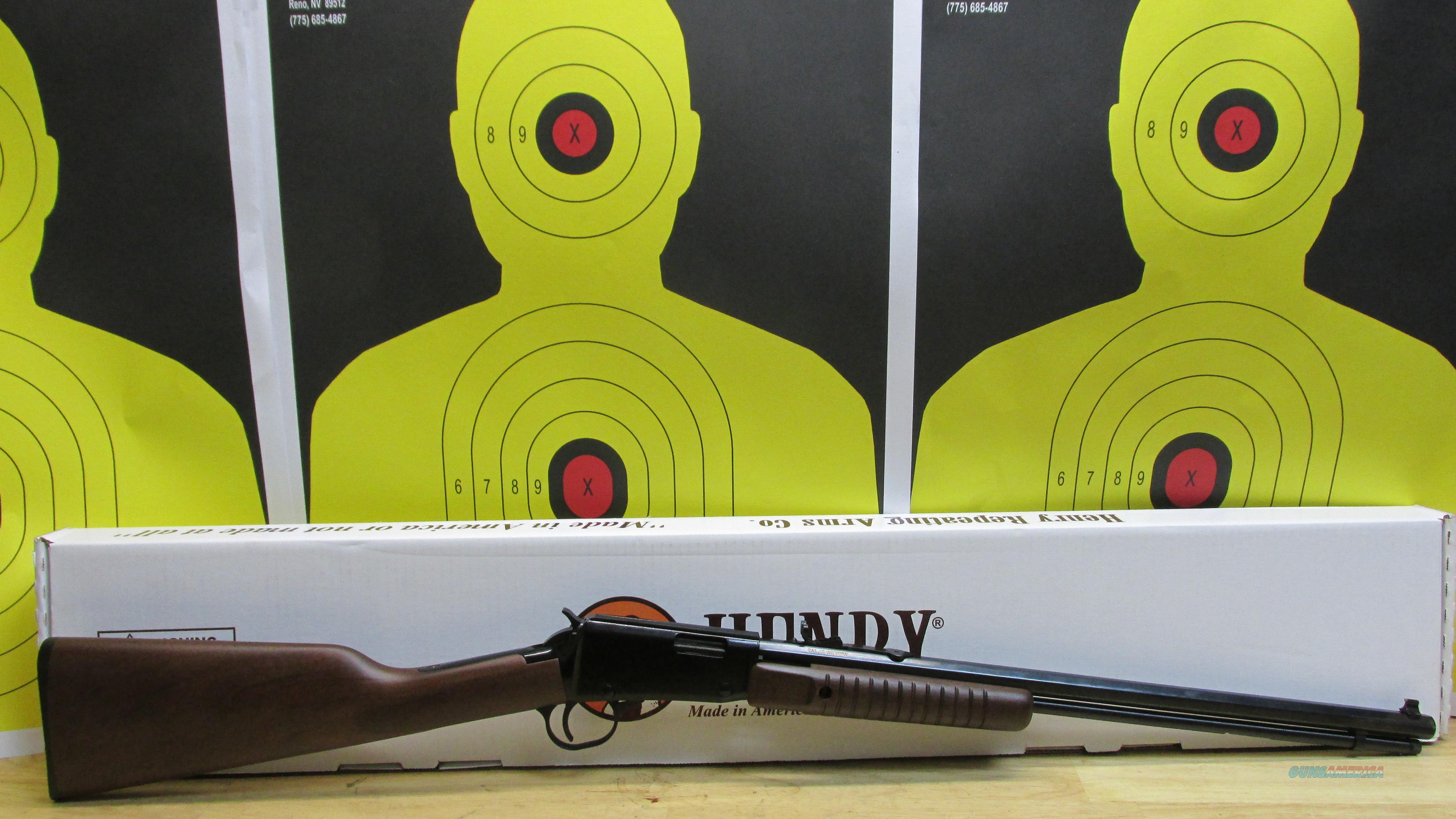 "HENRY REPEATING ARMS, H003TM .22WMR PUMP ACTION RIFLE, 12 ROUND TUBE FED, 20.5"" OCTAGON BARREL  Guns > Rifles > Henry Rifle Company"