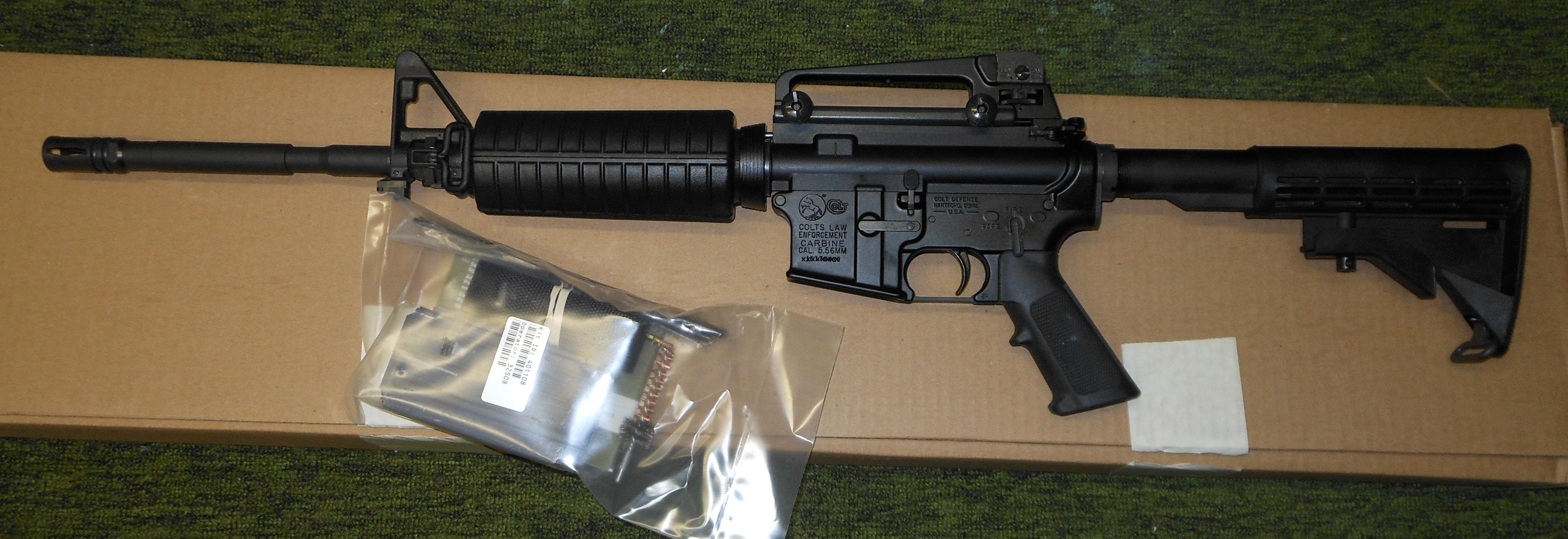 COLT LE 6920 003 M4A3 5.56 NATO LAW ENFORCEMENT CARBINE  Guns > Rifles > Colt Military/Tactical Rifles