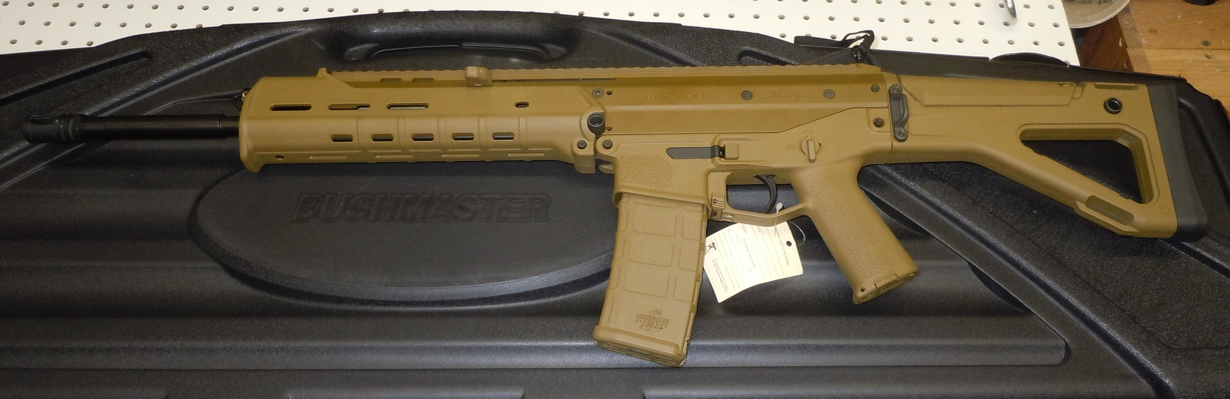 BUSHMASTER ACR 5.56 NATO (223 REM) RIFLE *COYOTE BROWN, NO LONGER IN PRODUCTION*  Guns > Rifles > Bushmaster Rifles > Complete Rifles