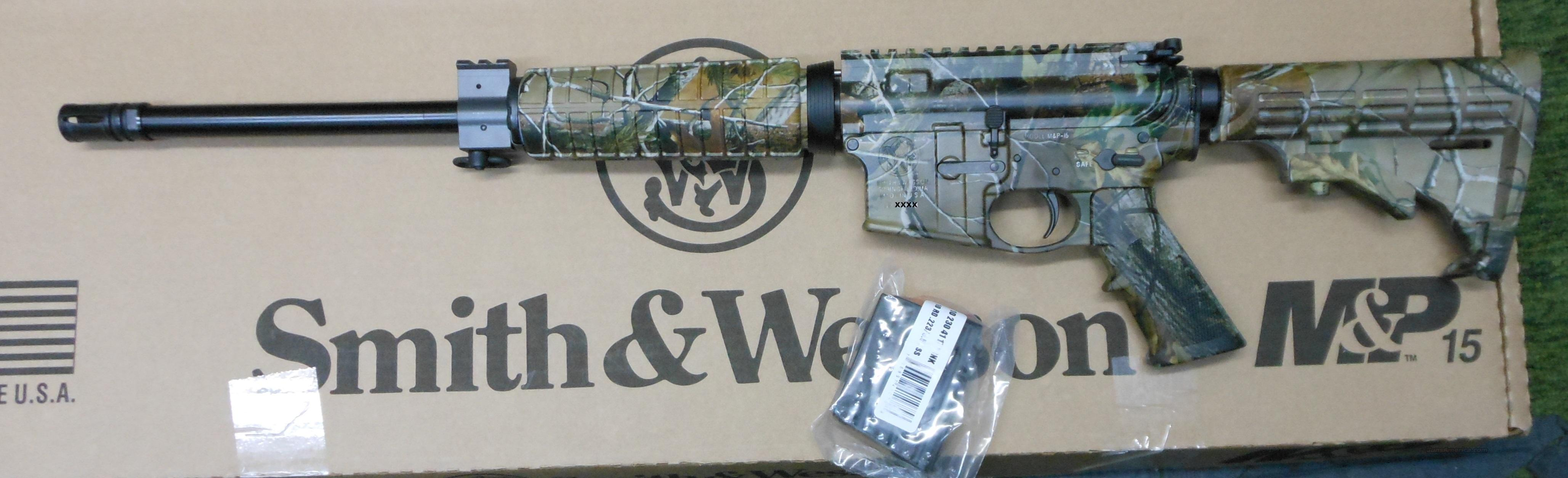 SMITH & WESSON M&P 15 300 WHISPER (300 AAC BLACKOUT) AR RIFLE (811300)  Guns > Rifles > Smith & Wesson Rifles > M&P