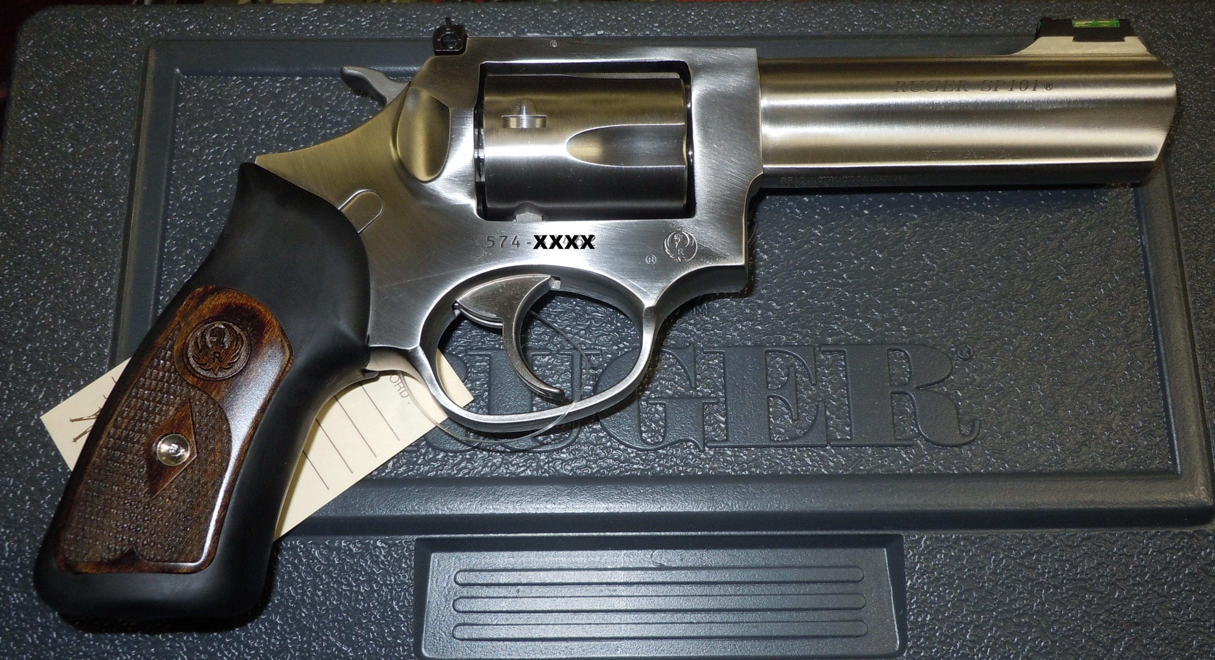 Ruger sp101 357 mag revolver w 4 quot barrel ksp 341x 05771 guns