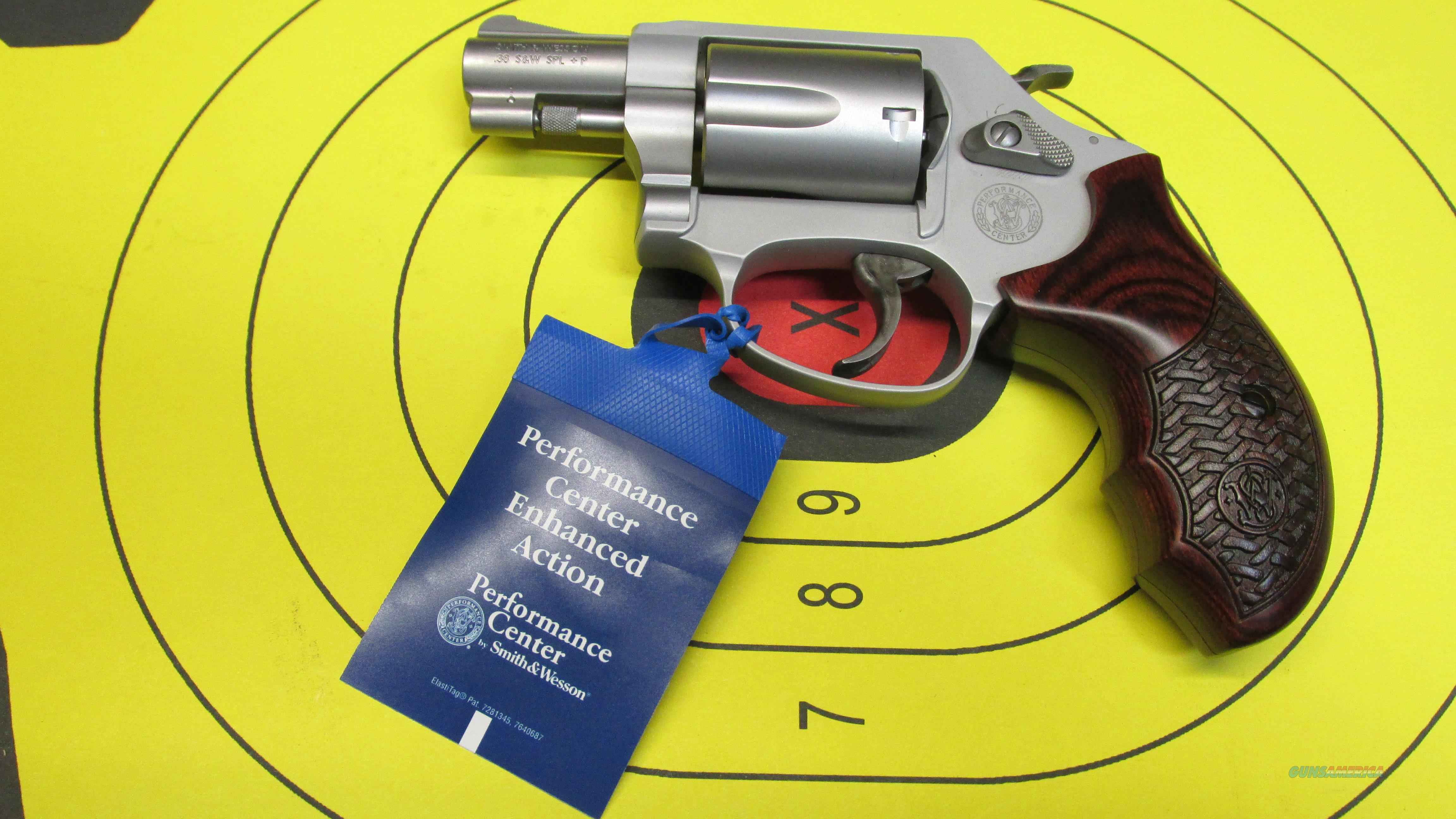 "SMITH &WESSON 637-2 PERFORMANCE CENTER .38 SPECIAL 5 SHOT REVOLVER, 1.875"" BARREL  Guns > Pistols > Smith & Wesson Revolvers > Performance Center"