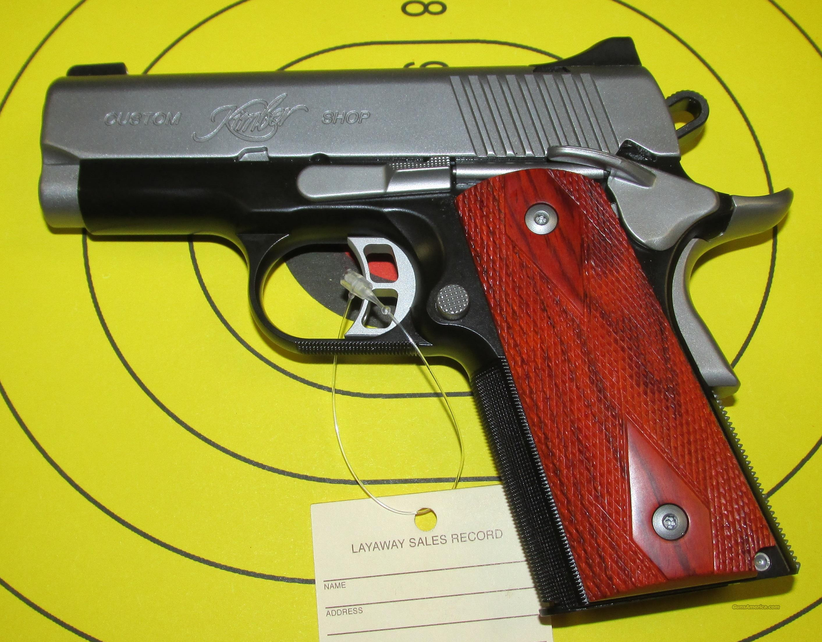 "Kimber Ultra CDP II 45 ACP with 3 1/2"" Barrelk and one 7 Shot Magazine  Guns > Pistols > Kimber of America Pistols"