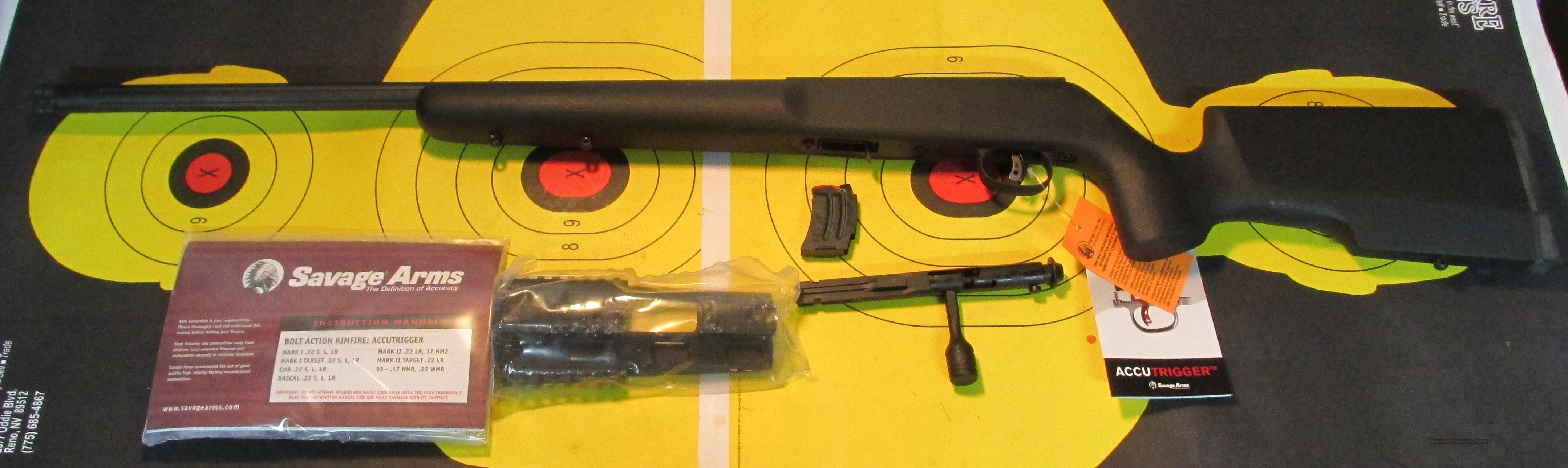 SAVAGE MKII 22LR   Guns > Rifles > Savage Rifles > Accutrigger Models > Sporting
