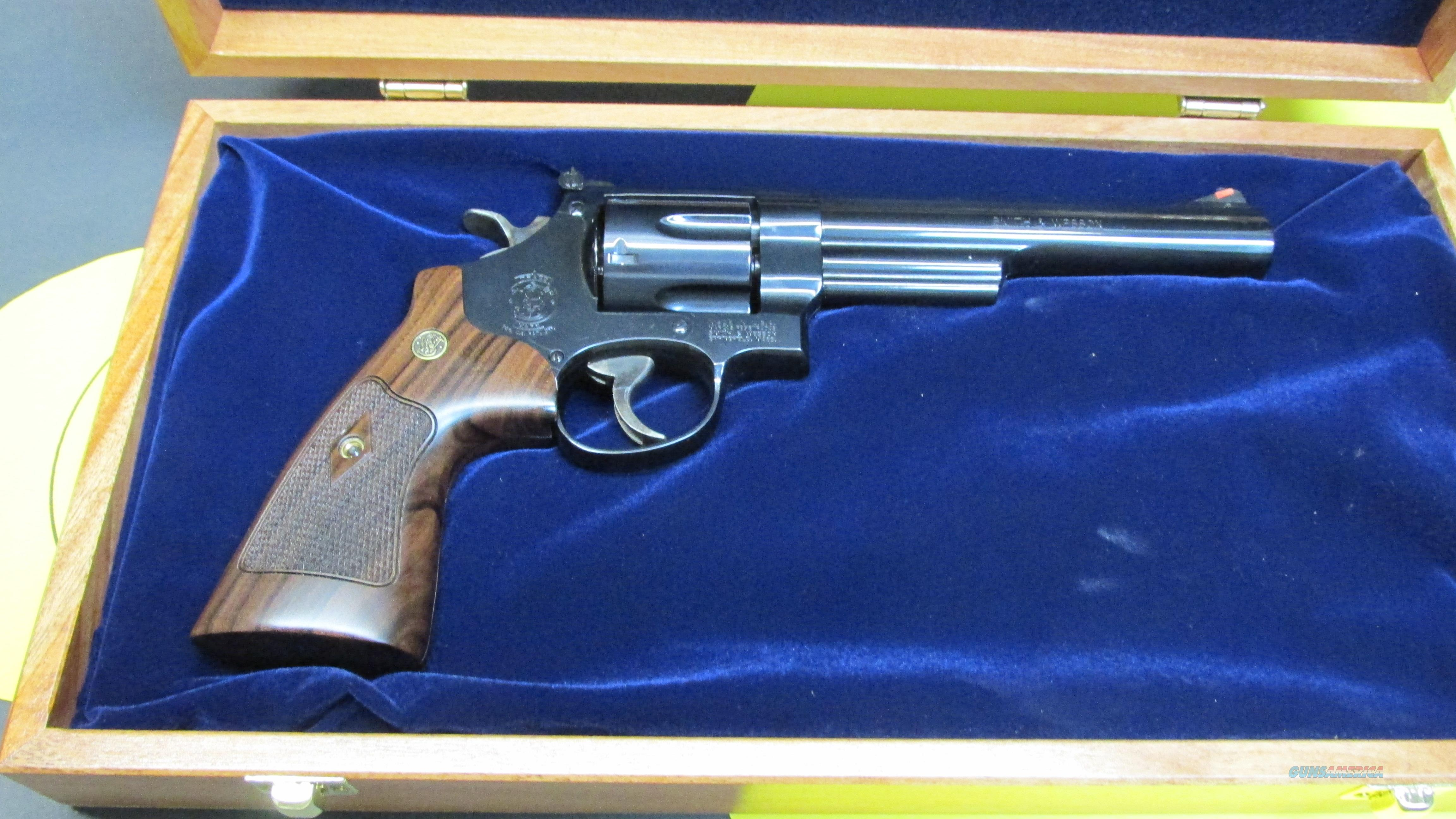 "SMITH & WESSON M29, .44 MAGNUM 6 SHOT REVOLVER WITH DISPLAY CASE, 6.5"" BARREL  Guns > Pistols > Smith & Wesson Revolvers > Full Frame Revolver"